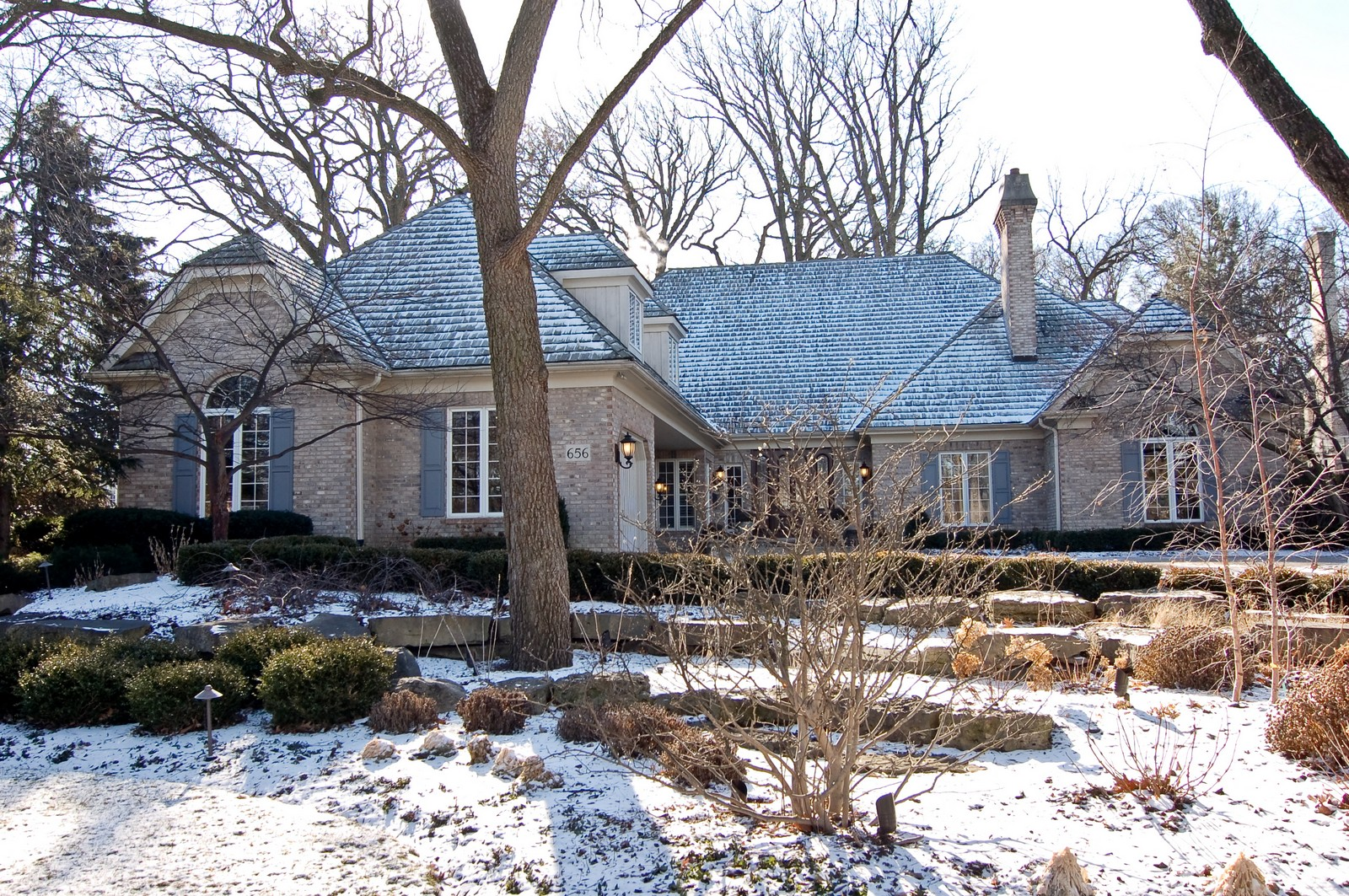 Real Estate Photography - 656 E 6th St, Hinsdale, IL, 60521 - Front View