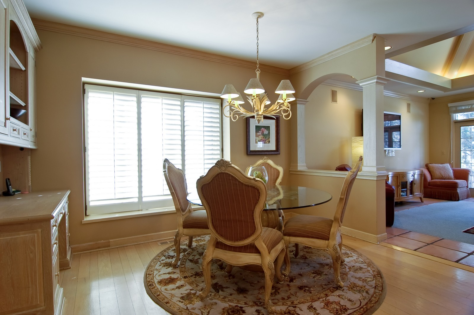 Real Estate Photography - 656 E 6th St, Hinsdale, IL, 60521 - Breakfast Nook