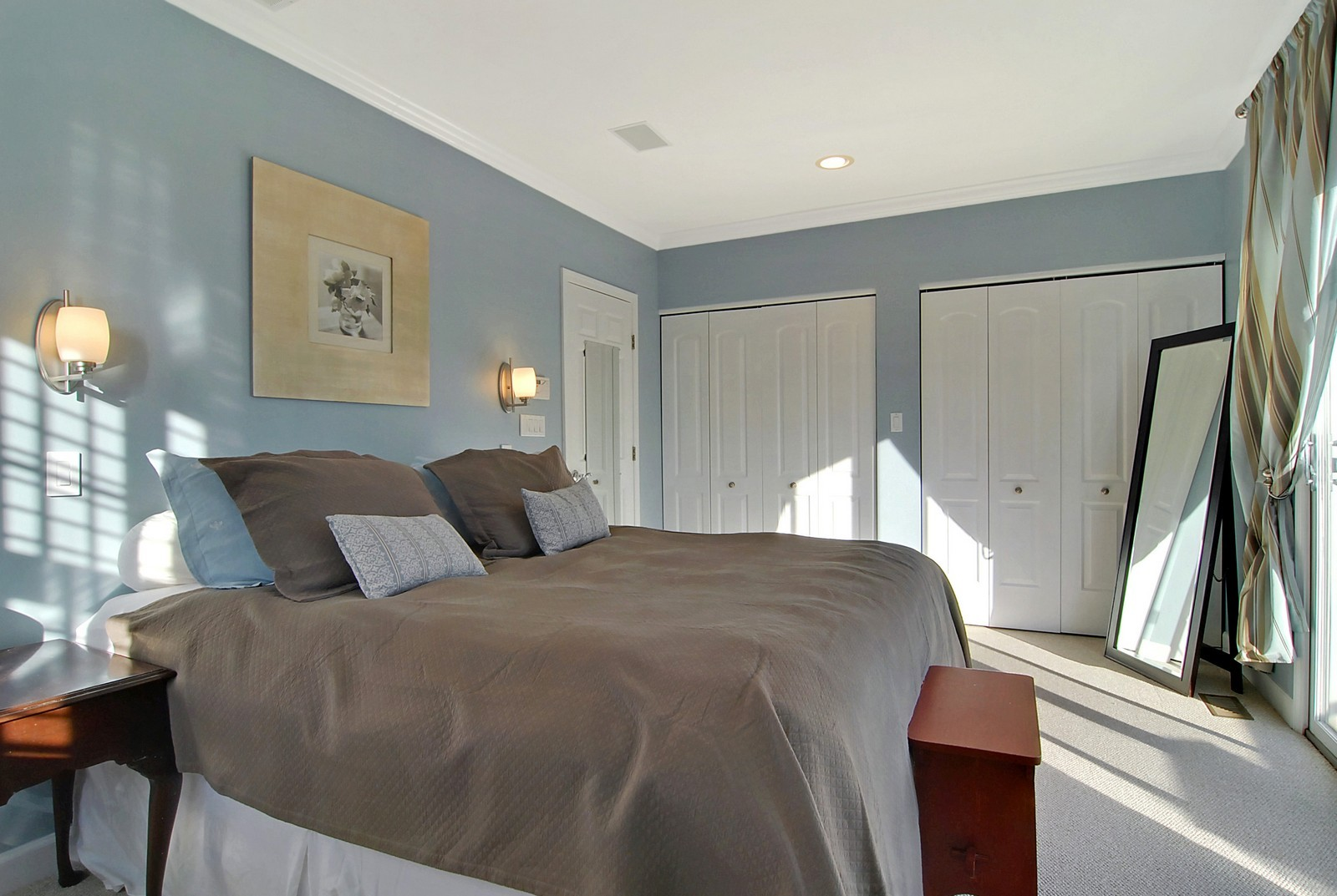 Real Estate Photography - 1815 N Shefield, Unit A, Chicago, IL, 60614 - Master Bedroom