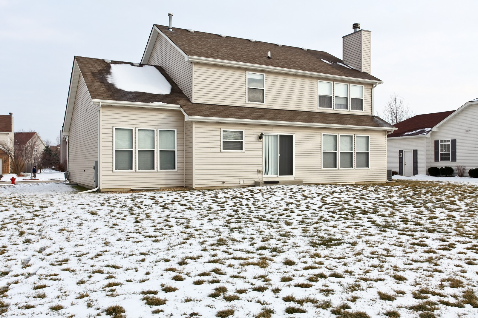 Real Estate Photography - 2025 Colonial Street, Aurora, IL, 60503 - Rear View