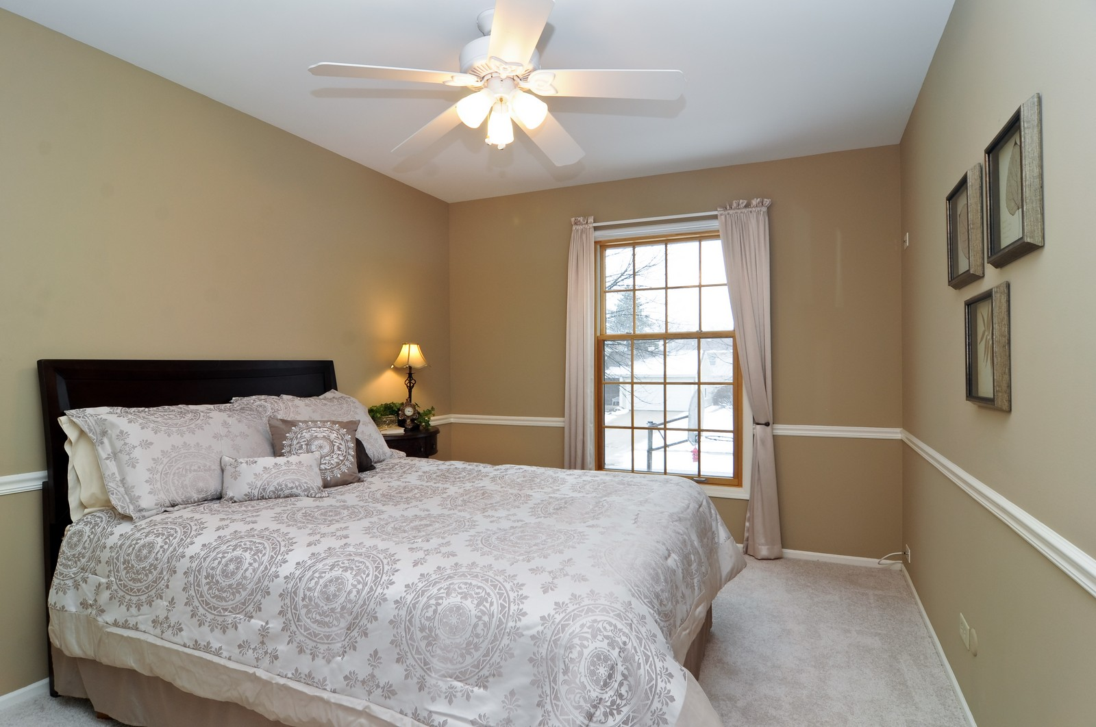 Real Estate Photography - 1416 Oxford Dr, Buffalo Grove, IL, 60089 - 2nd Bedroom