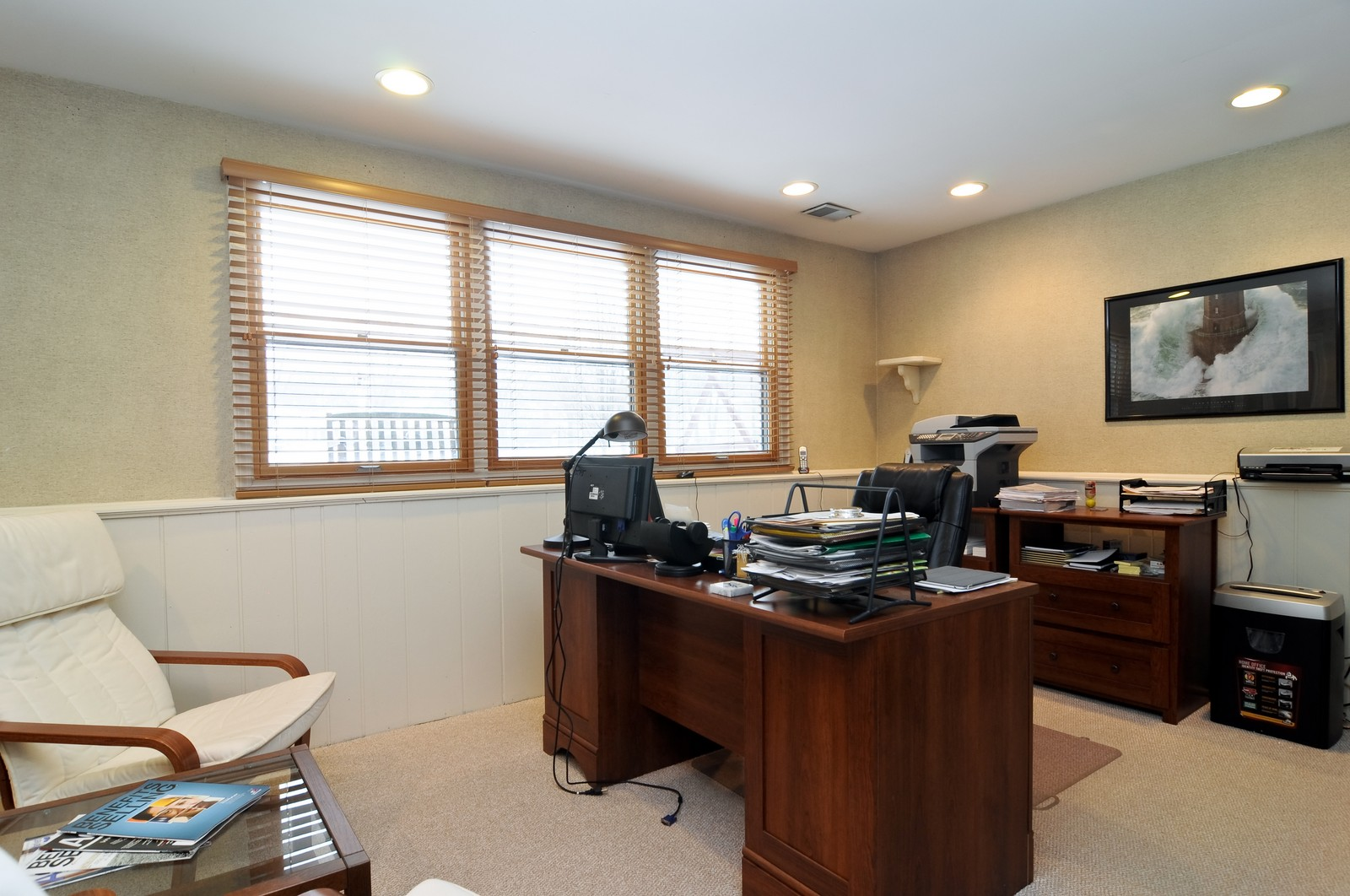 Real Estate Photography - 1416 Oxford Dr, Buffalo Grove, IL, 60089 - Office