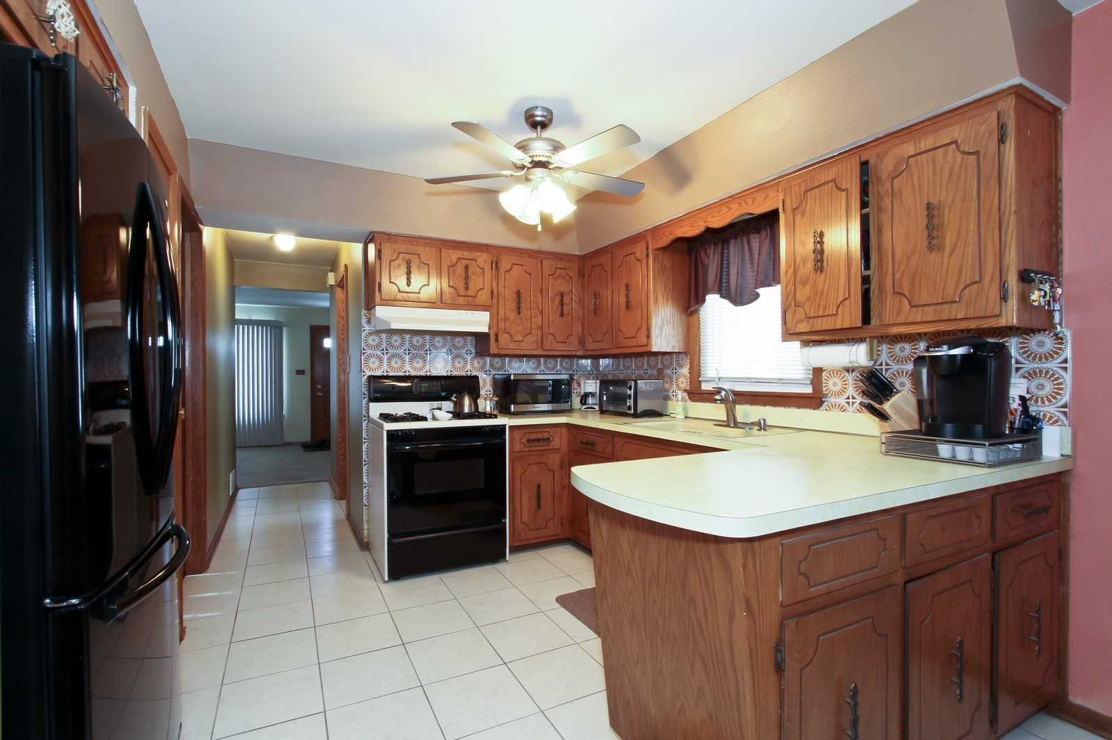 Real Estate Photography - 5301 S Parkside Ave, Chicago, IL, 60638 - Kitchen