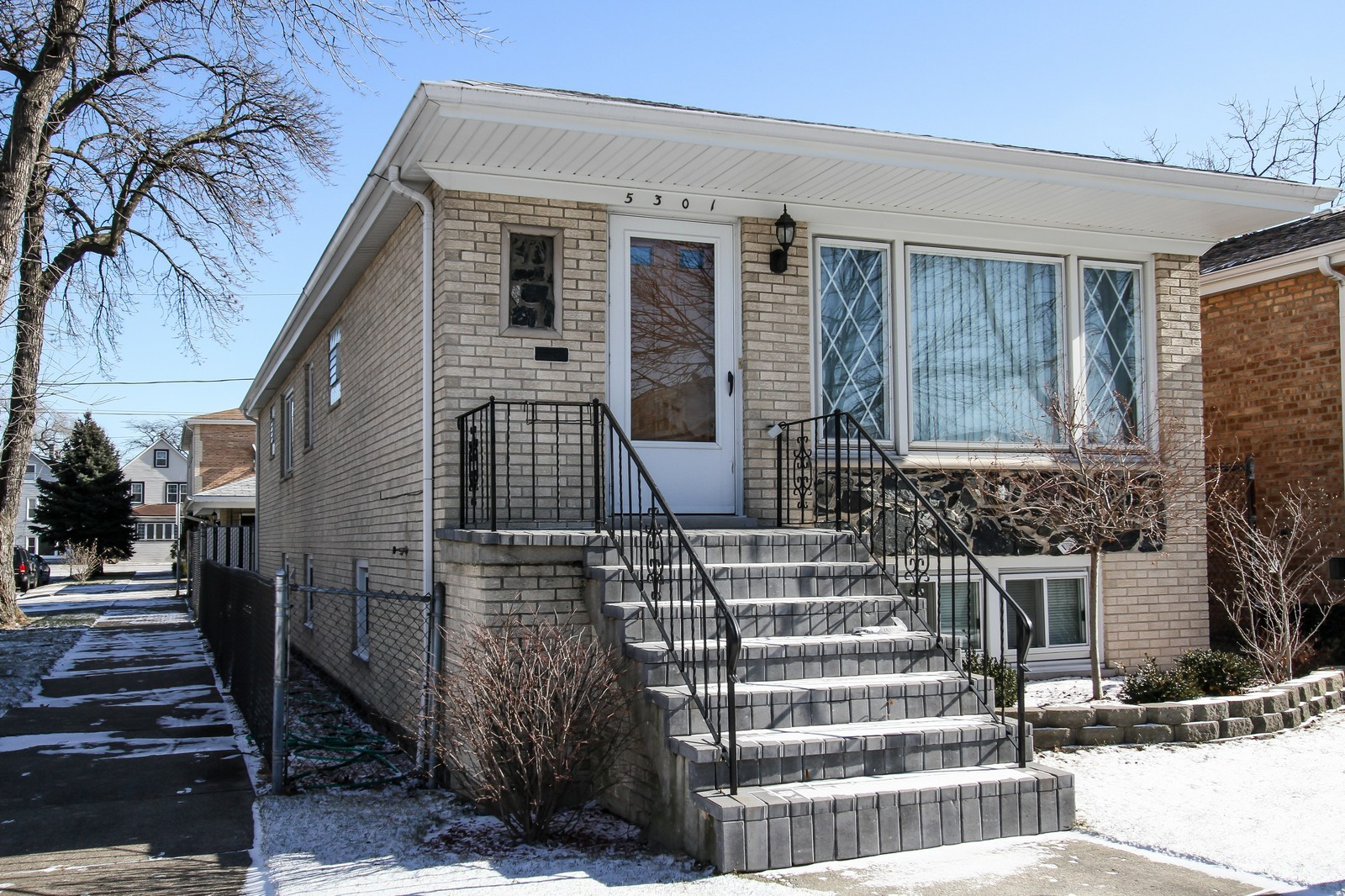 Real Estate Photography - 5301 S Parkside Ave, Chicago, IL, 60638 - Front View