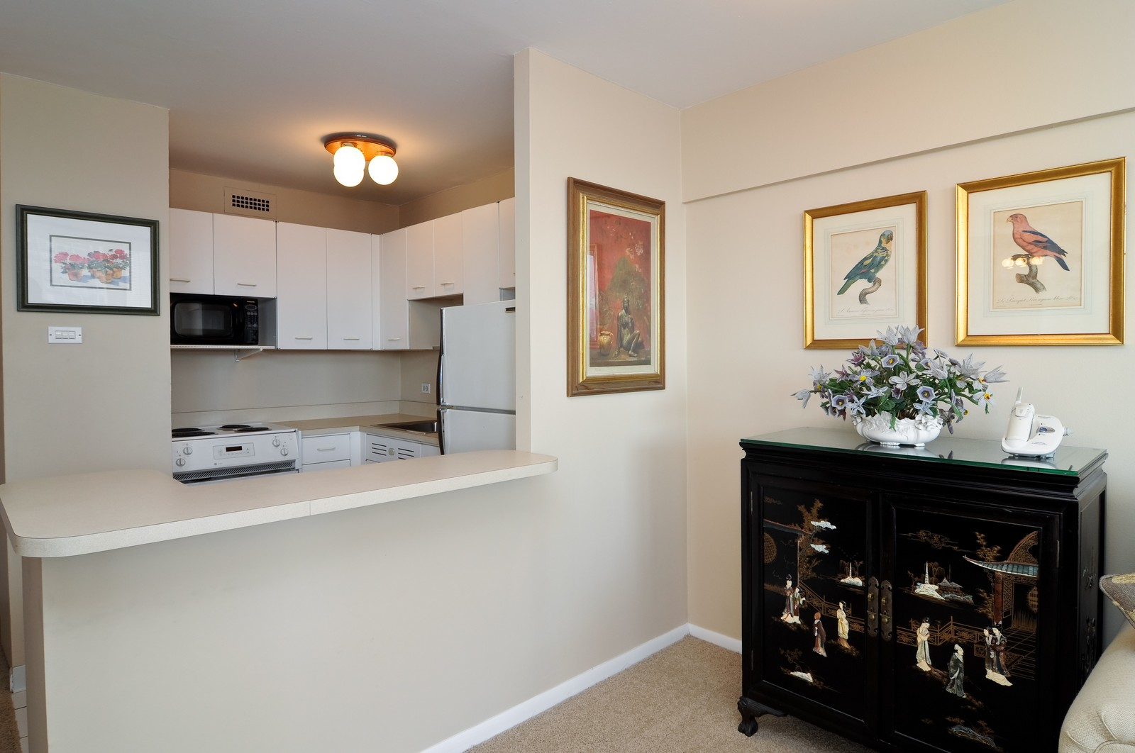 Real Estate Photography - 1460 N Sandburg, Unit 1207, Chicago, IL, 60610 - Kitchen
