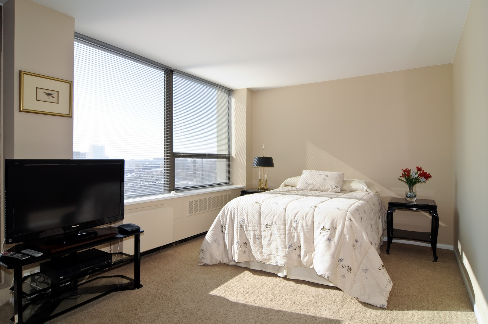 Real Estate Photography - 1460 N Sandburg, Unit 1207, Chicago, IL, 60610 - Bedroom