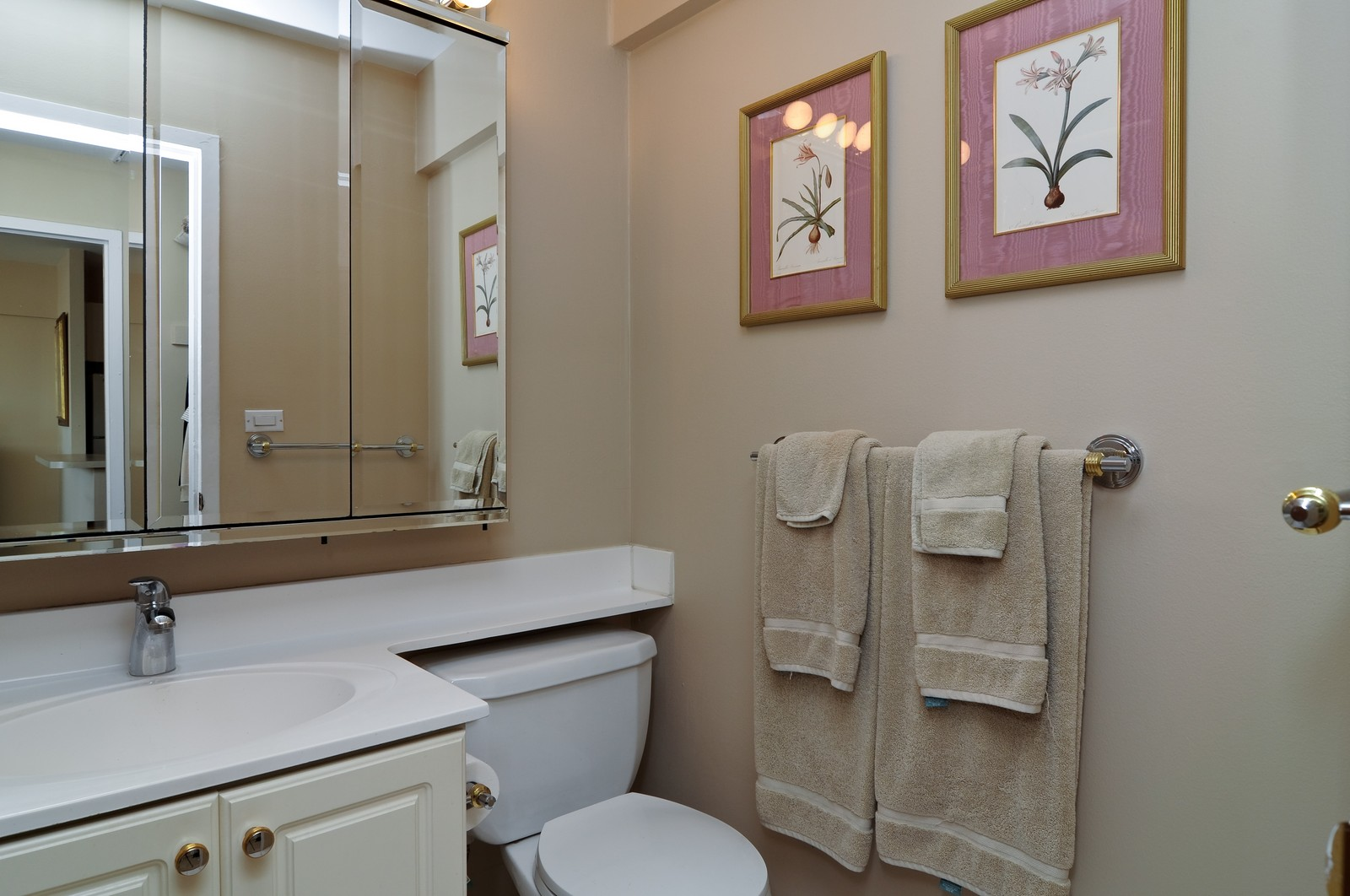 Real Estate Photography - 1460 N Sandburg, Unit 1207, Chicago, IL, 60610 - Bathroom