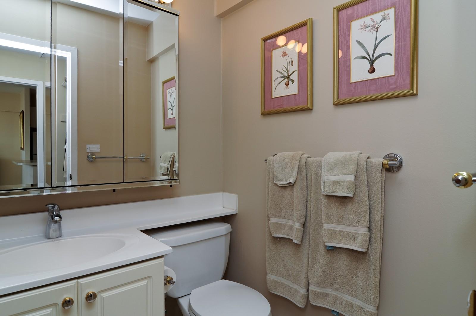 Real Estate Photography - 1460 N Sandburg, Unit 1207, Chicago, IL, 60610 - Bathroom