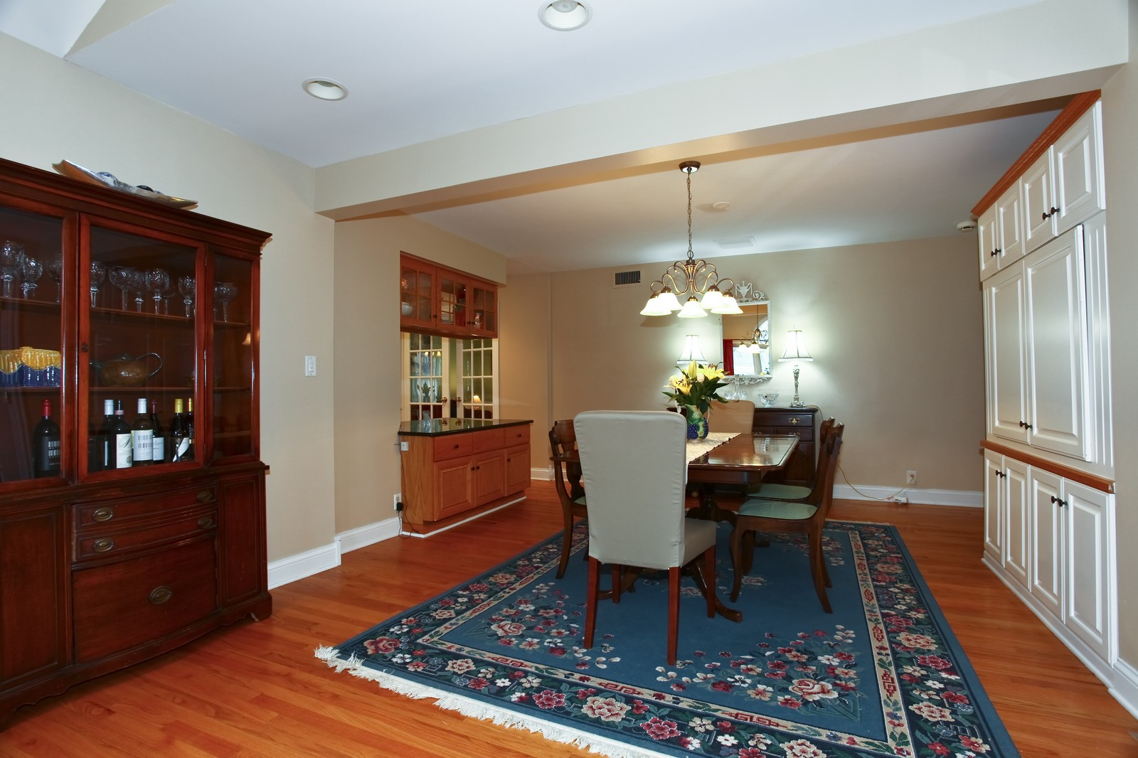 Real Estate Photography - 424 W Harrison, Wheaton, IL, 60187 - Dining Room