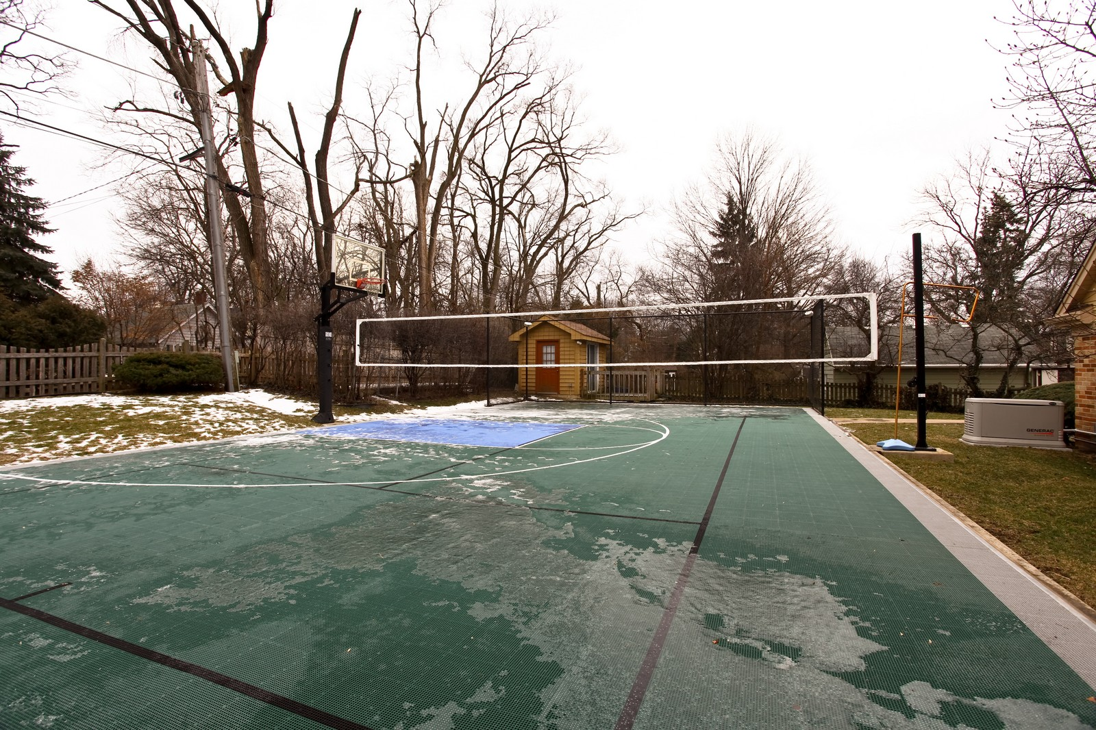 Real Estate Photography - 424 W Harrison, Wheaton, IL, 60187 - Basketball Court