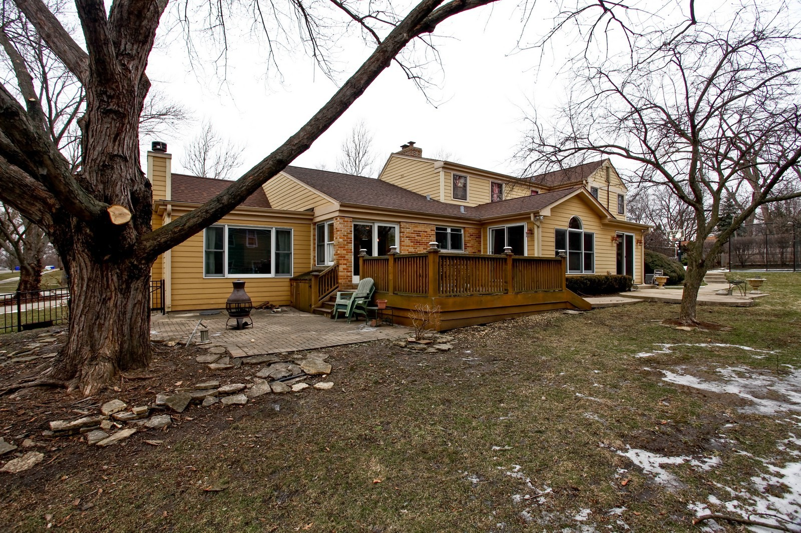 Real Estate Photography - 424 W Harrison, Wheaton, IL, 60187 - Rear View
