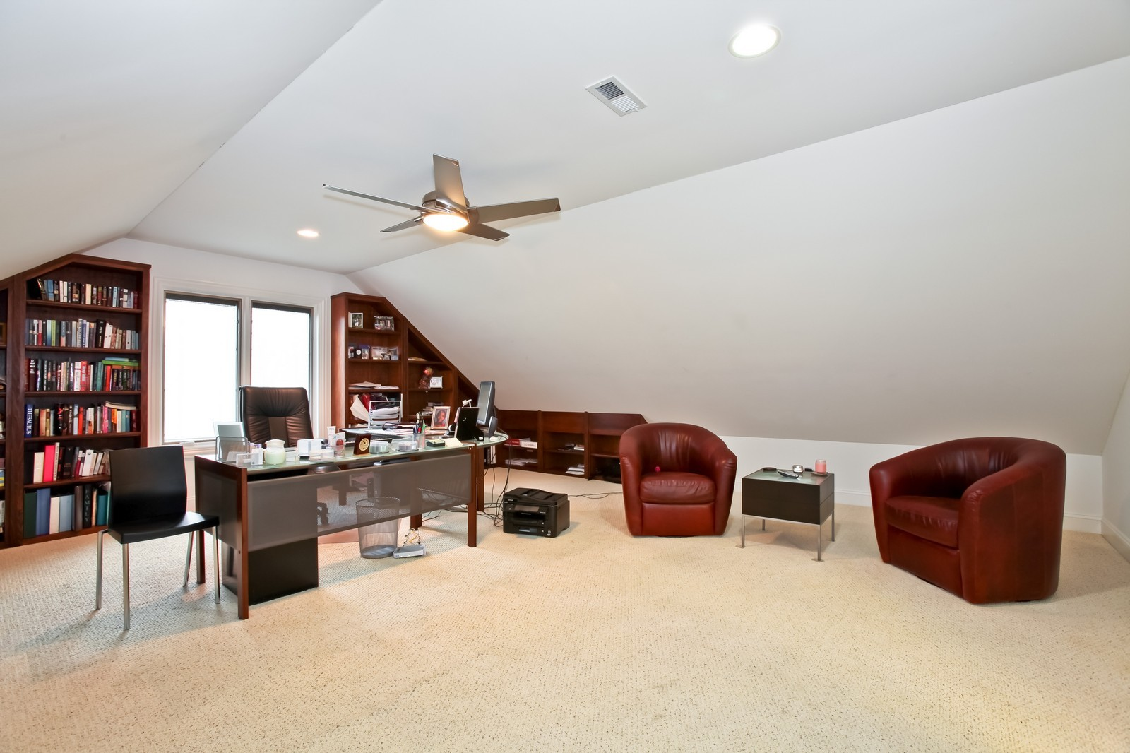 Real Estate Photography - 1000 Evergreen Cir, Olympia Fields, IL, 60461 - Office