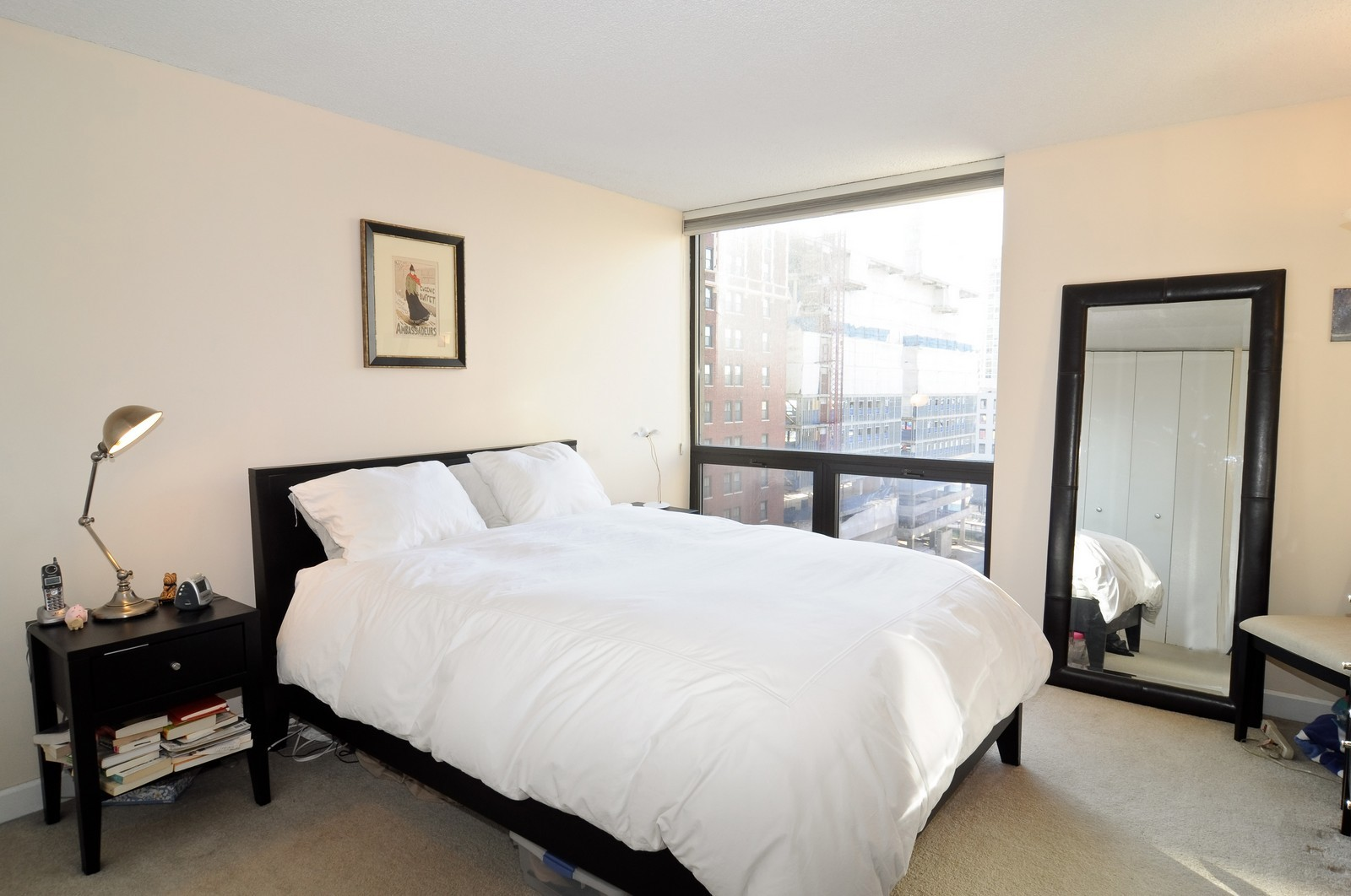 Real Estate Photography - 70 W Huron St, 807, Chicago, IL, 60654 - Master Bedroom