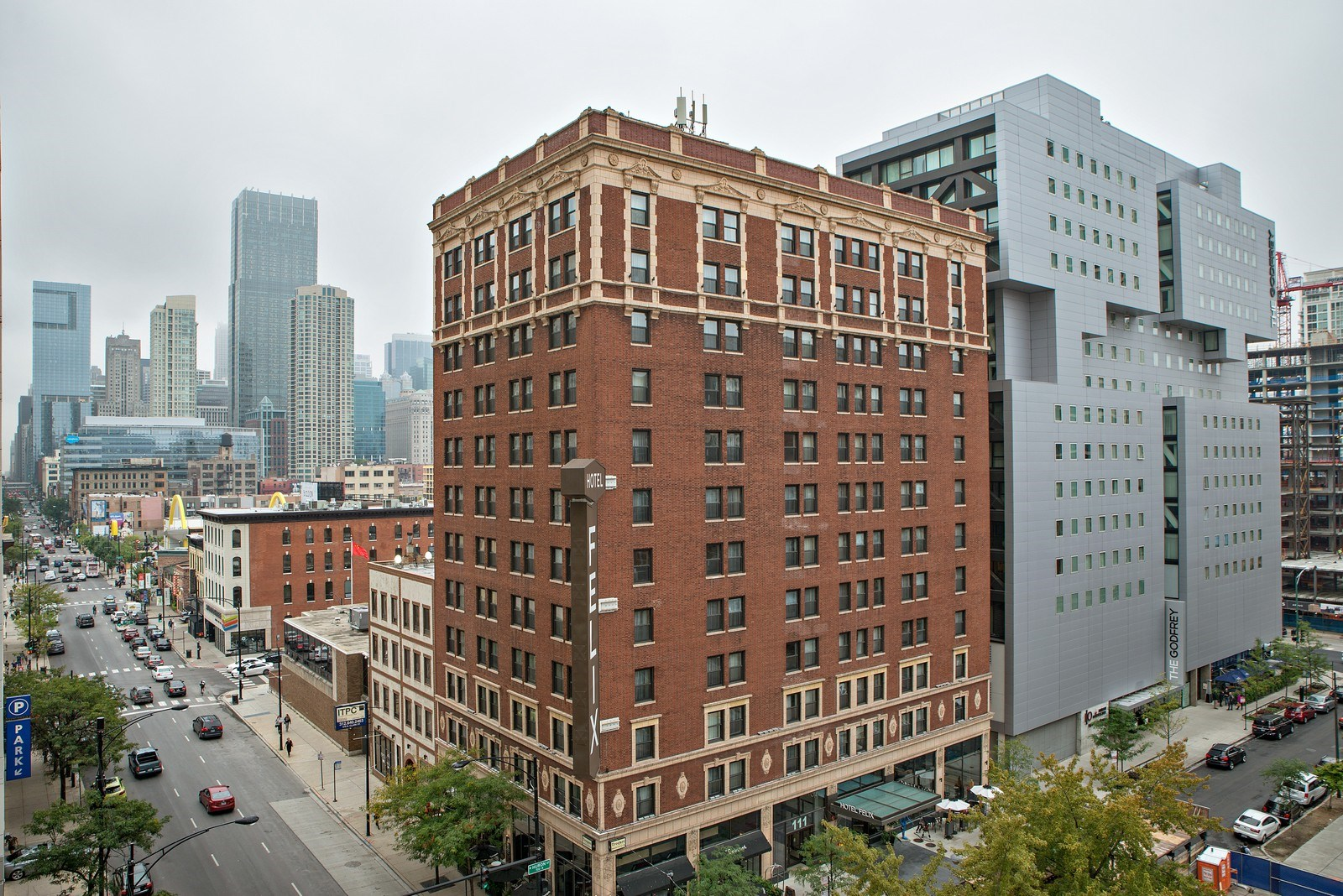 Real Estate Photography - 70 W Huron St, 807, Chicago, IL, 60654 - View