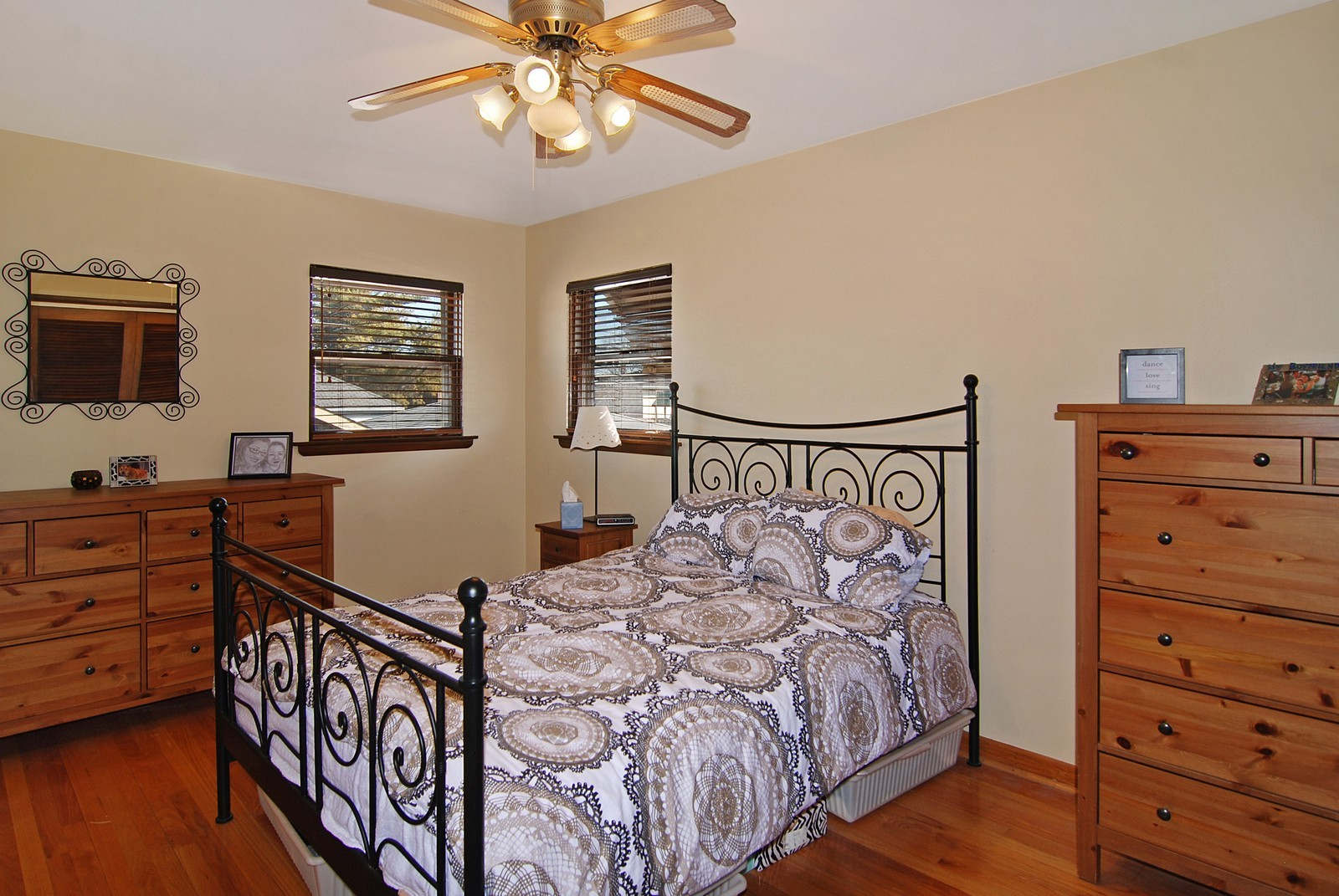 Real Estate Photography - 4535 Deyo, Brookfield, IL, 60513 - Master Bedroom