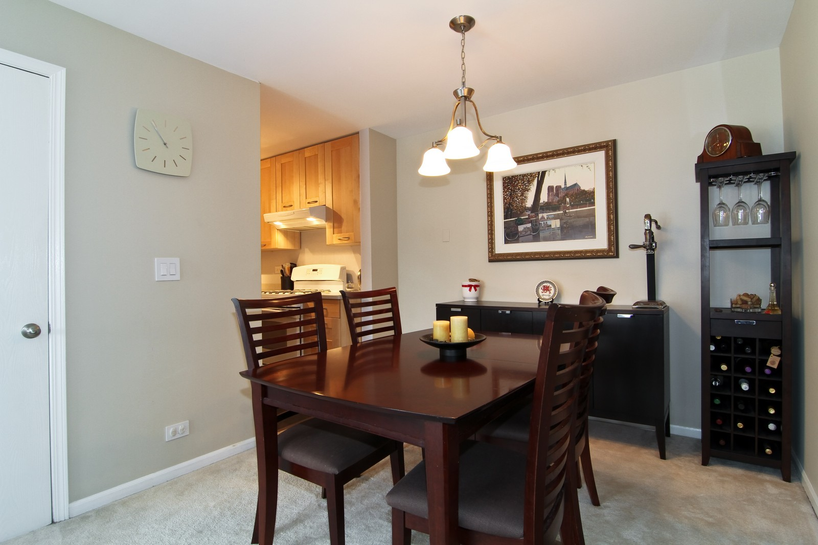 Real Estate Photography - 918 Rogers, 203, Downers Grove, IL, 60515 - Dining Room