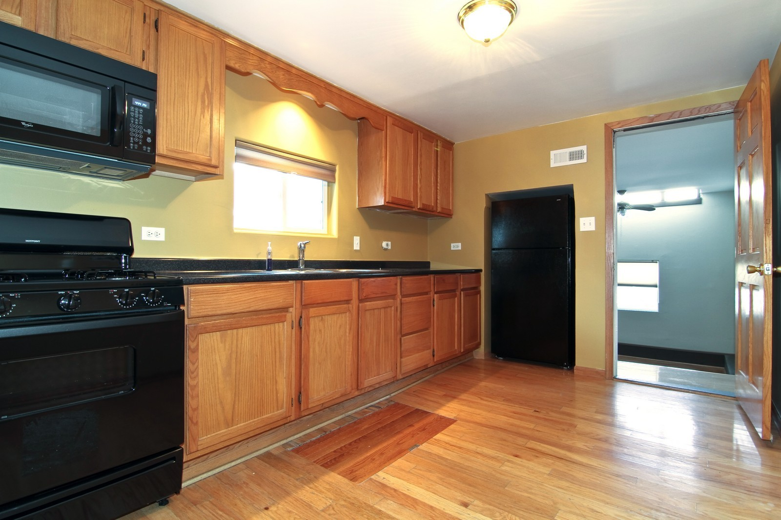 Real Estate Photography - 302 May St, Lockport, IL, 60441 - Kitchen
