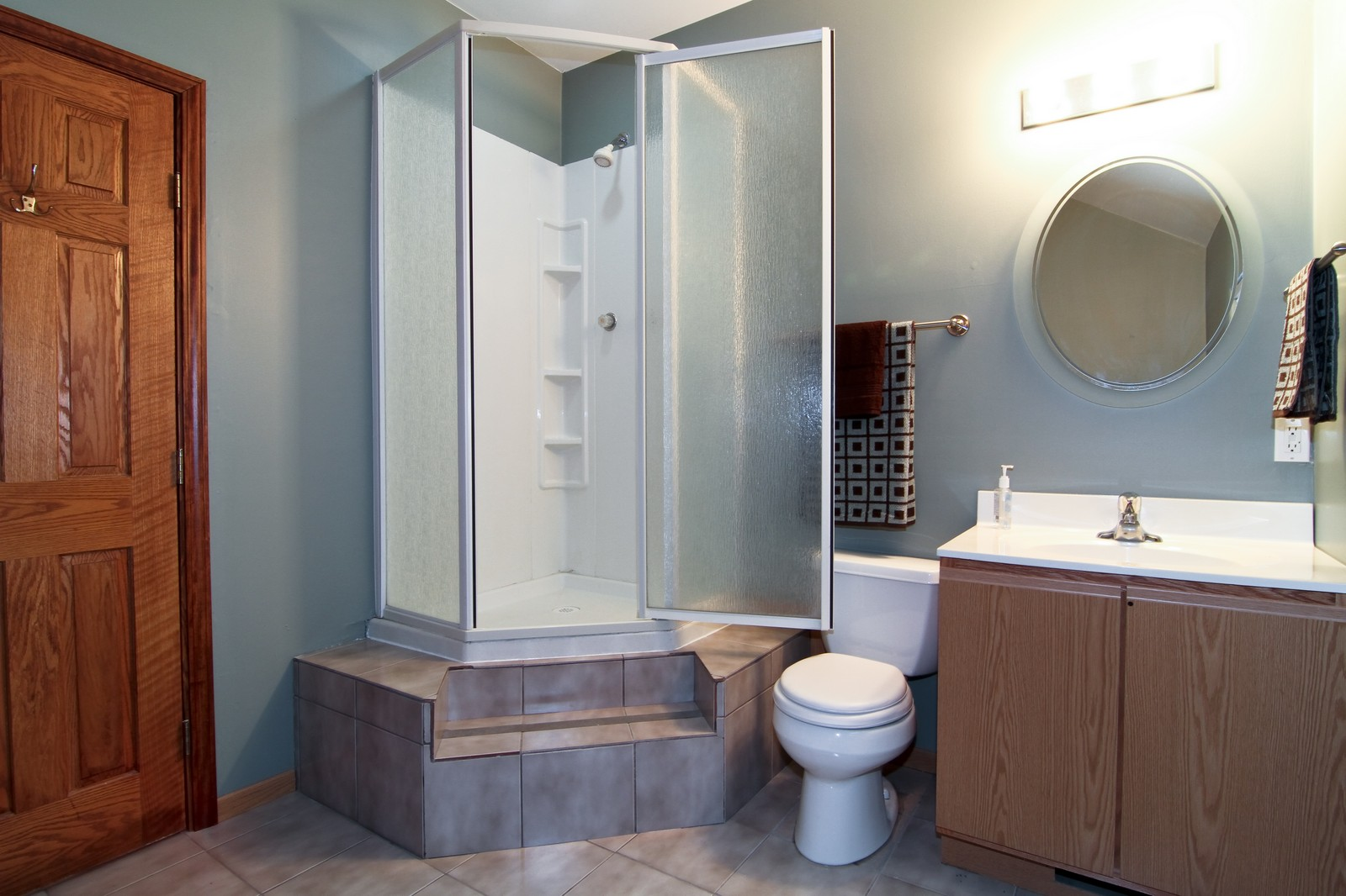 Real Estate Photography - 302 May St, Lockport, IL, 60441 - Bathroom