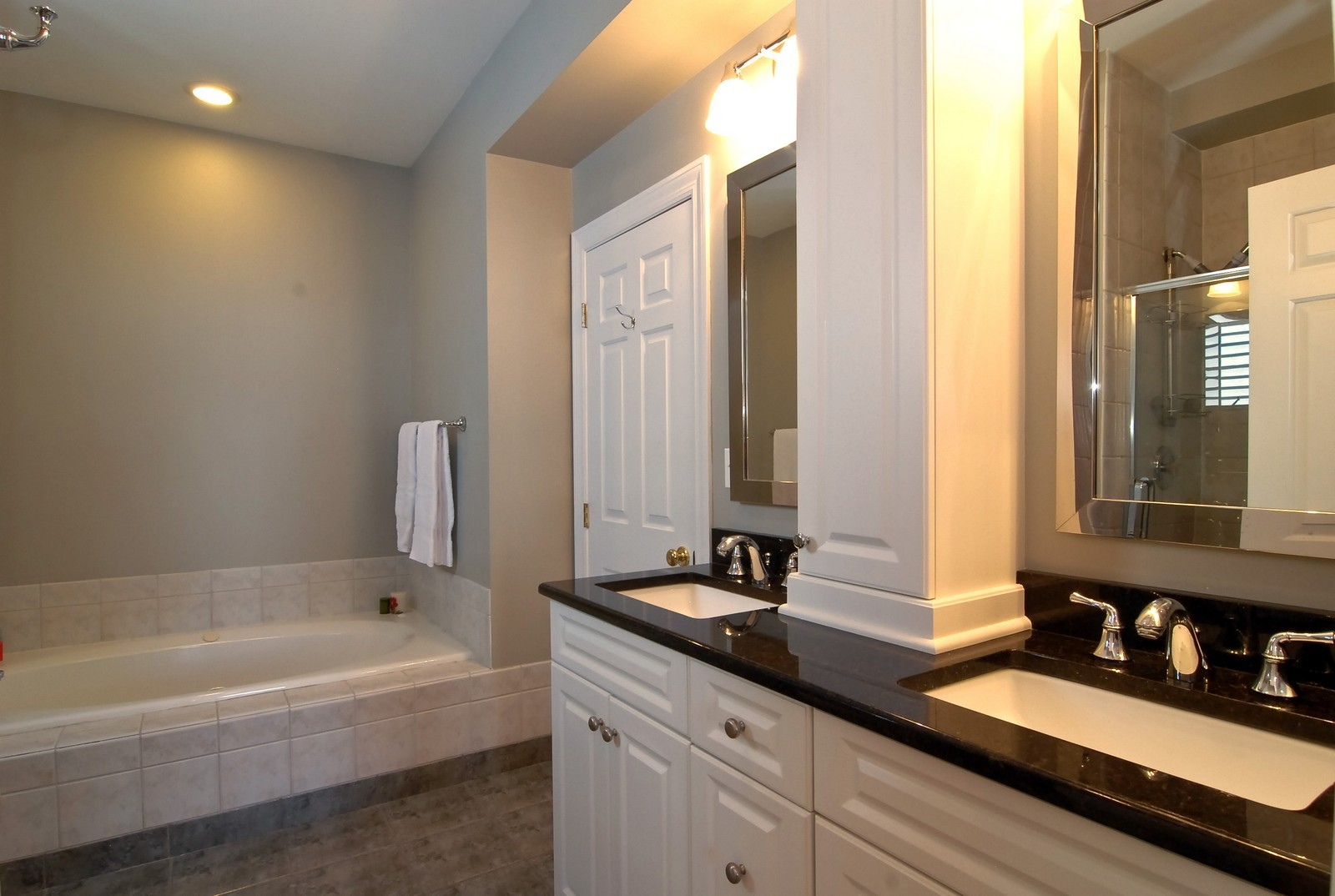 Real Estate Photography - 1519 W Oakdale, Chicago, IL, 60657 - Master Bathroom