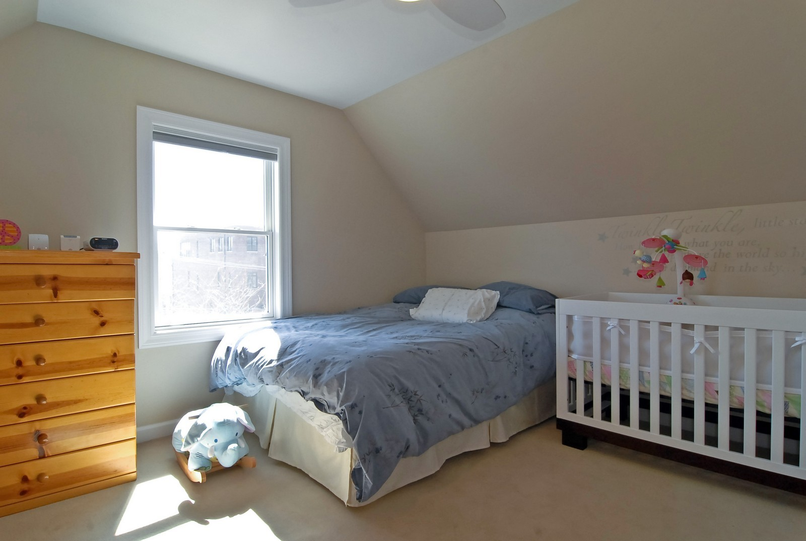 Real Estate Photography - 1519 W Oakdale, Chicago, IL, 60657 - 4th Bedroom