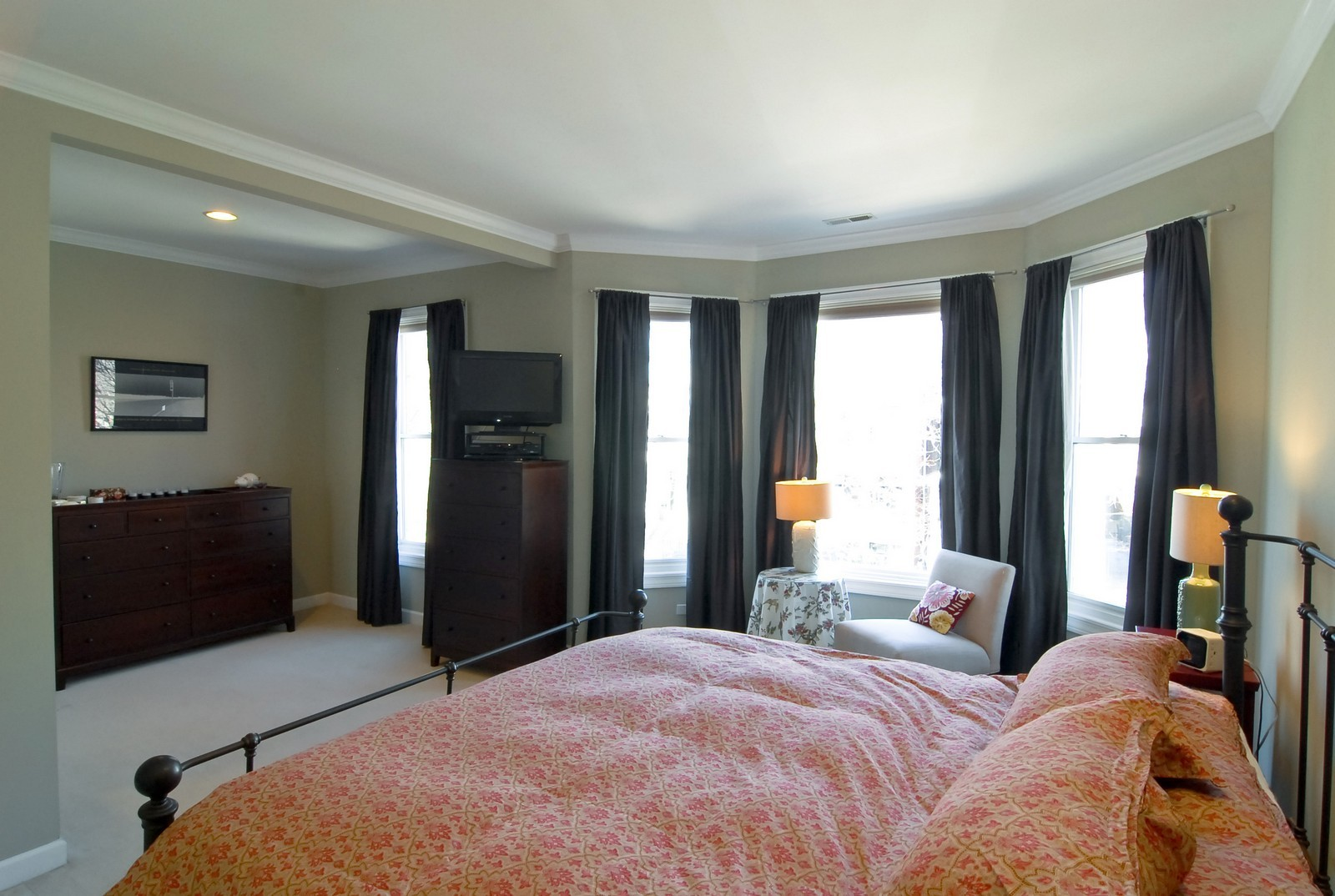 Real Estate Photography - 1519 W Oakdale, Chicago, IL, 60657 - Master Bedroom