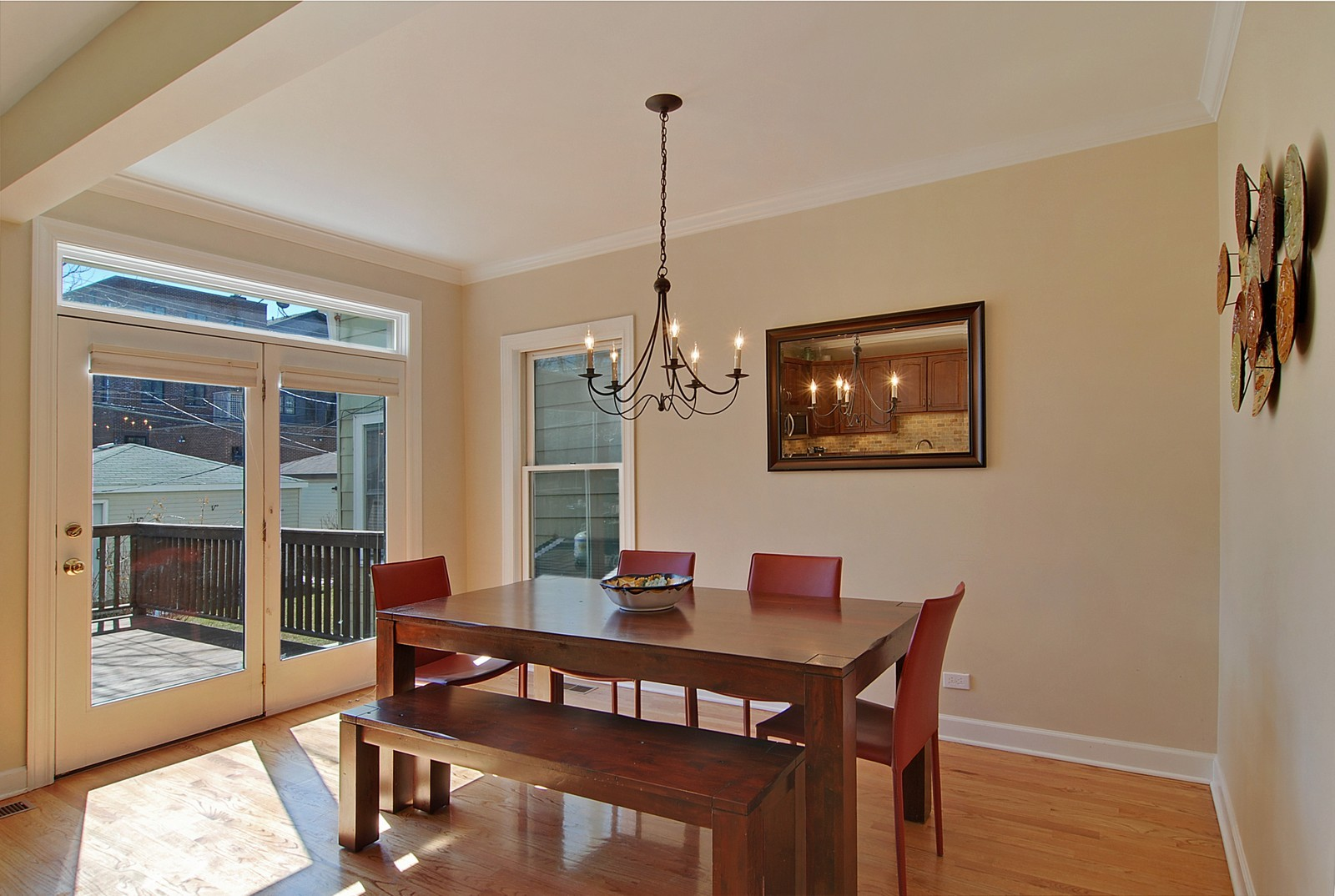 Real Estate Photography - 1519 W Oakdale, Chicago, IL, 60657 - Dining Room