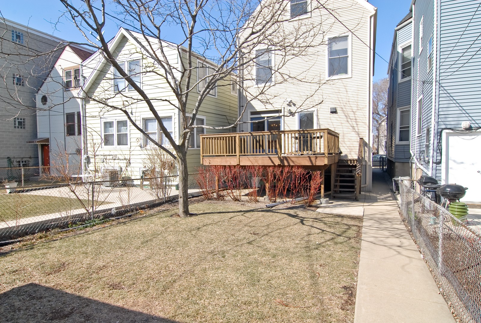 Real Estate Photography - 1519 W Oakdale, Chicago, IL, 60657 - Rear View