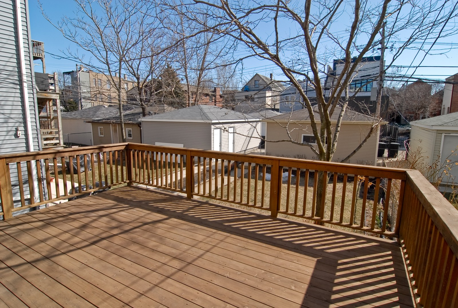 Real Estate Photography - 1519 W Oakdale, Chicago, IL, 60657 - Deck