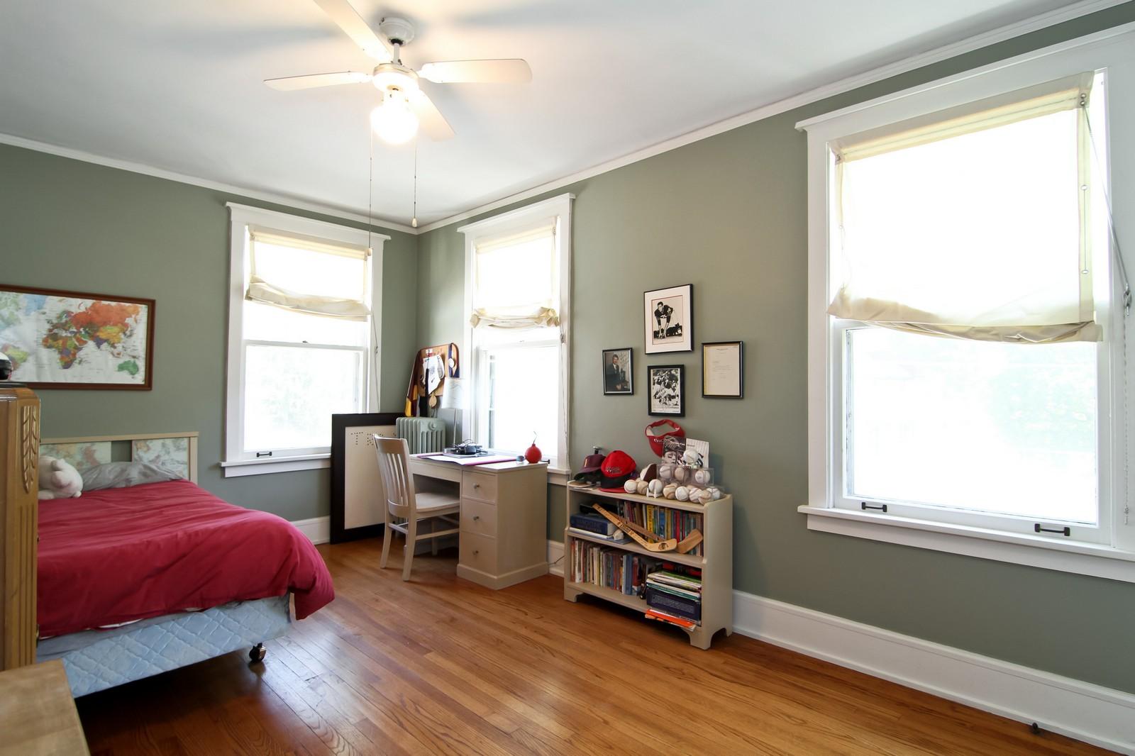 Real Estate Photography - 239 6th Avenue, La Grange, IL, 60525 - 3rd Bedroom