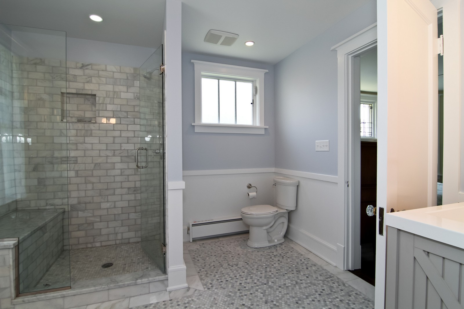 Real Estate Photography - 239 6th Avenue, La Grange, IL, 60525 - Master Bathroom