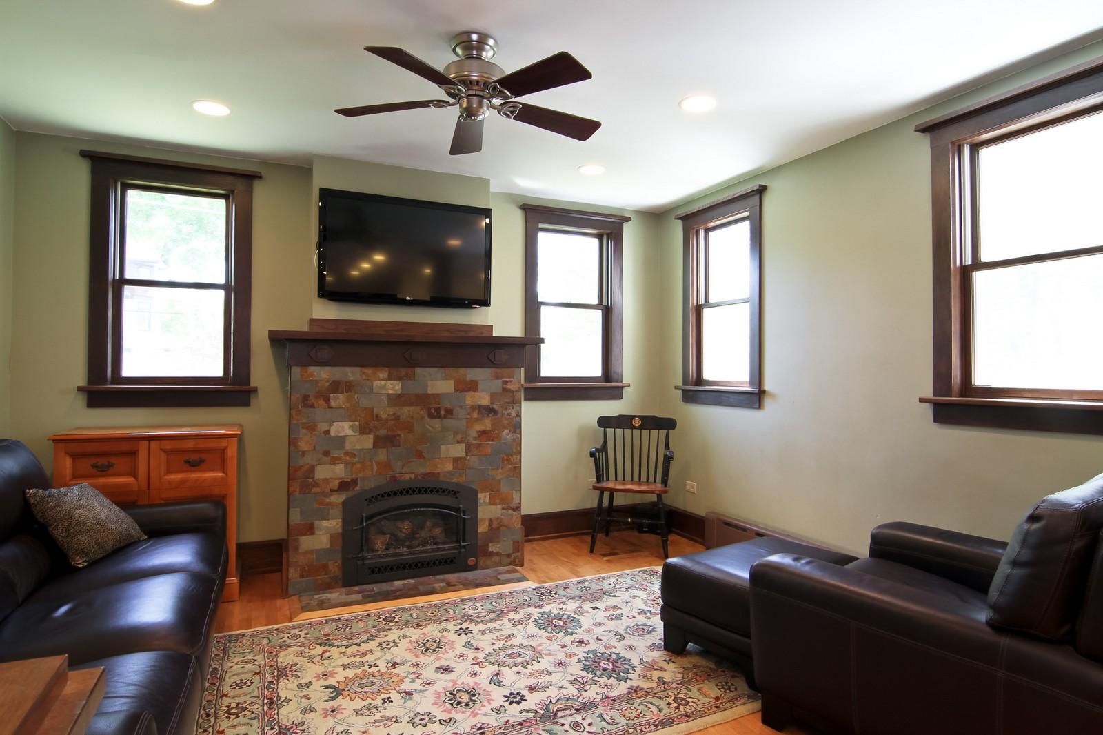 Real Estate Photography - 239 6th Avenue, La Grange, IL, 60525 - Family Room