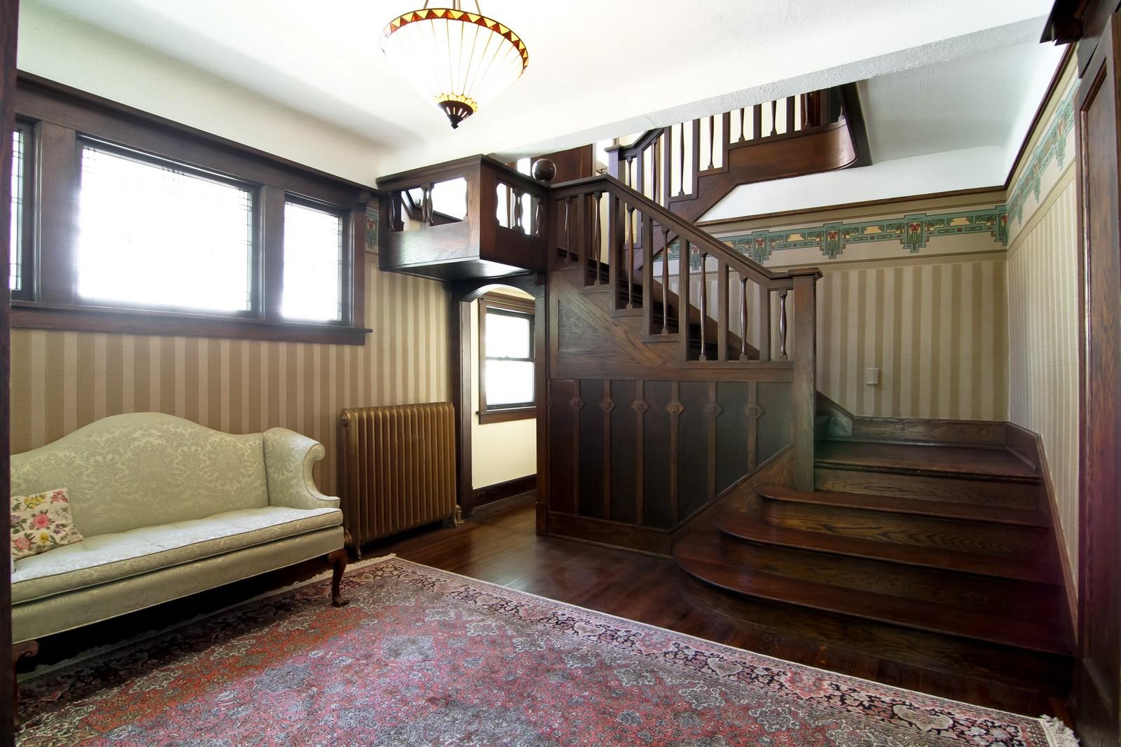Real Estate Photography - 239 6th Avenue, La Grange, IL, 60525 - Foyer