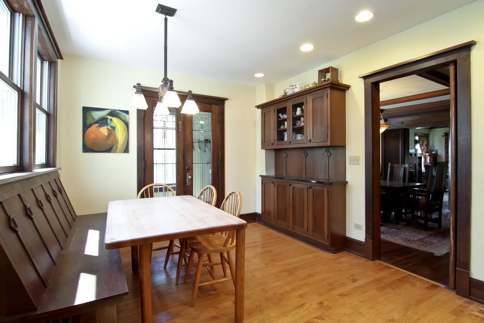 Real Estate Photography - 239 6th Avenue, La Grange, IL, 60525 - Breakfast Area