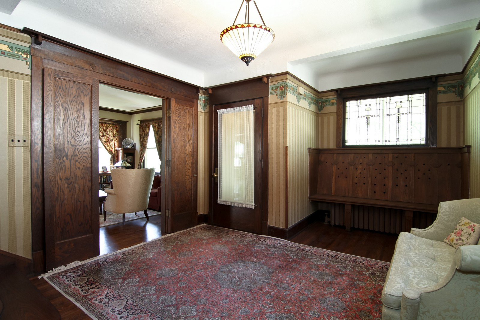 Real Estate Photography - 239 6th Avenue, La Grange, IL, 60525 - Entryway