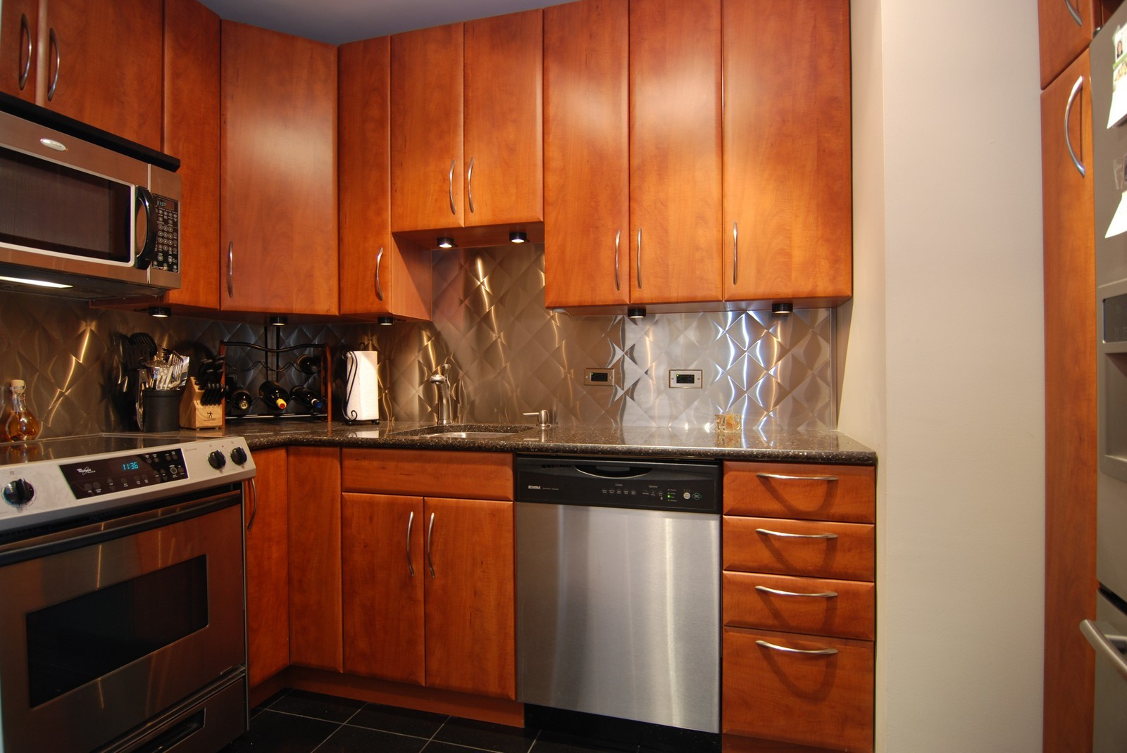 Real Estate Photography - 777 N Michigan Ave, Unit 3107, Chicago, IL, 60611 - Kitchen