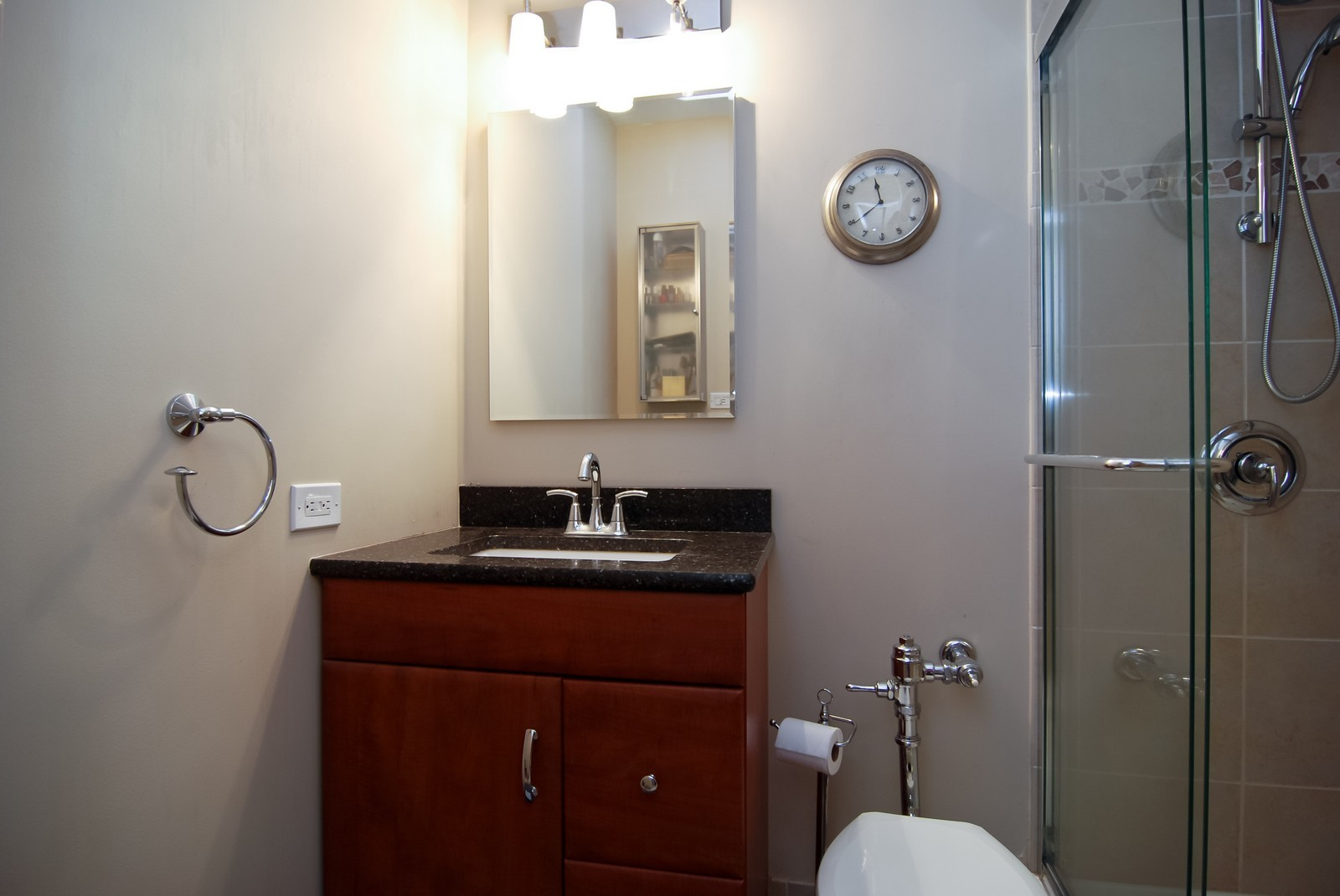 Real Estate Photography - 777 N Michigan Ave, Unit 3107, Chicago, IL, 60611 - Bathroom