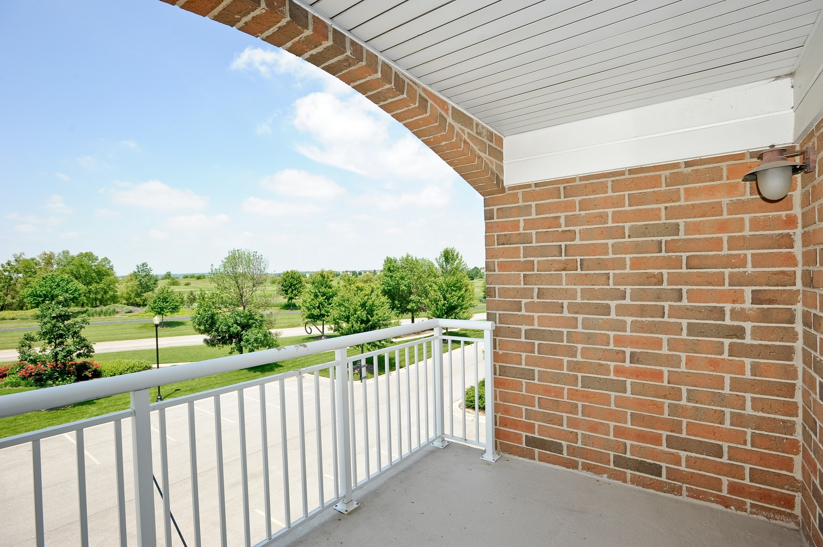Real Estate Photography - 2692 Stone Circle, 209, Geneva, IL, 60134 - Balcony