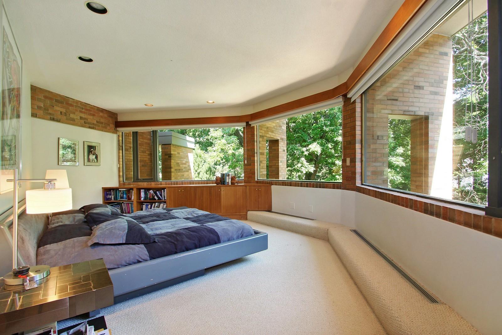 Real Estate Photography - 350 Sunrise Circle, Glencoe, IL, 60022 - Master Bedroom