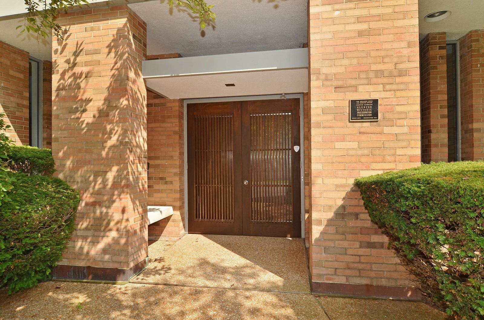 Real Estate Photography - 350 Sunrise Circle, Glencoe, IL, 60022 - Landmark Certification Plaque