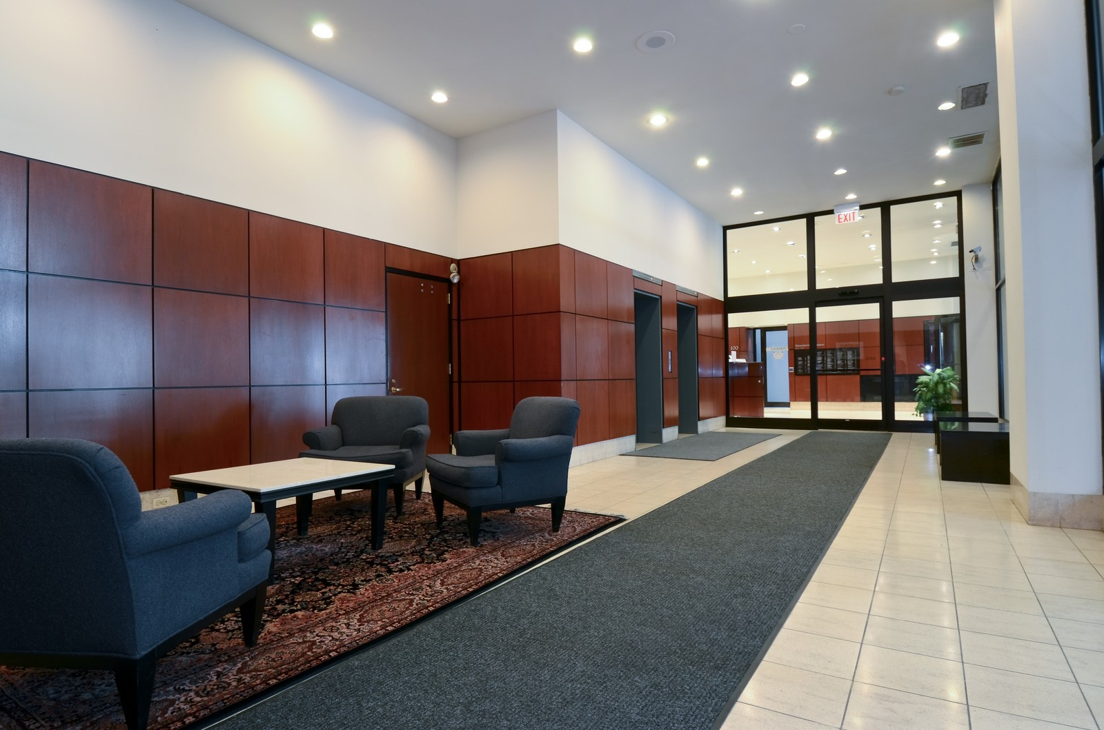 Real Estate Photography - 233 East Erie, 2304, Chicago, IL, 60611 - Lobby