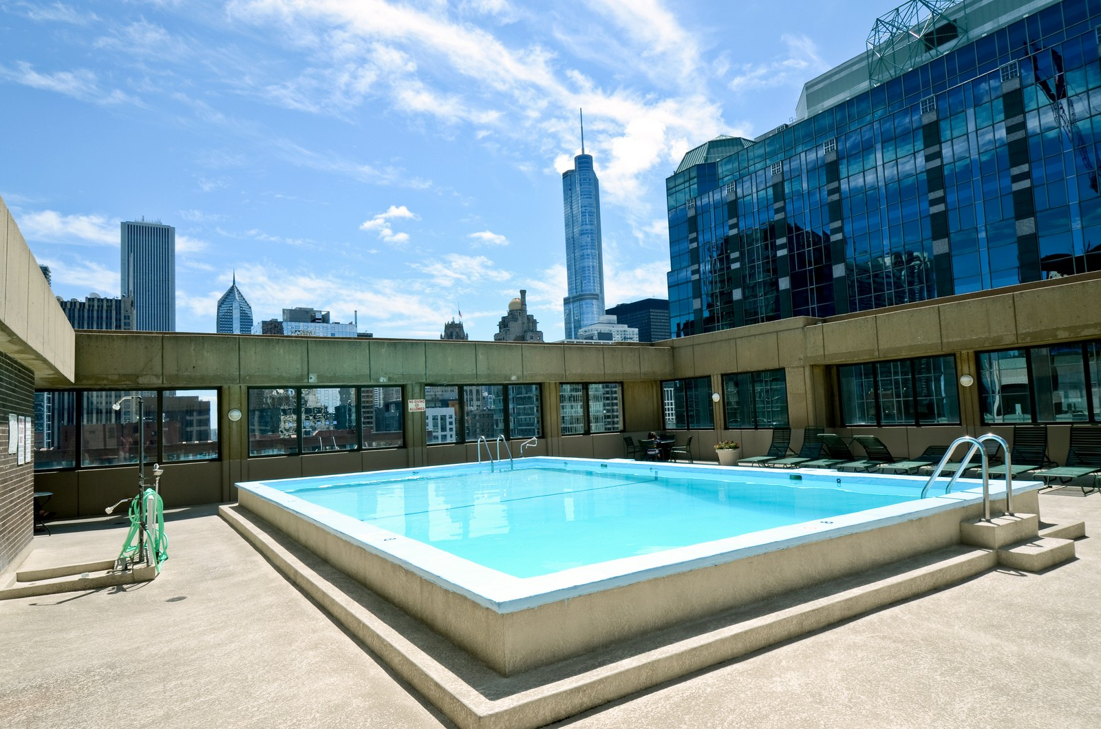 Real Estate Photography - 233 East Erie, 2304, Chicago, IL, 60611 - Pool