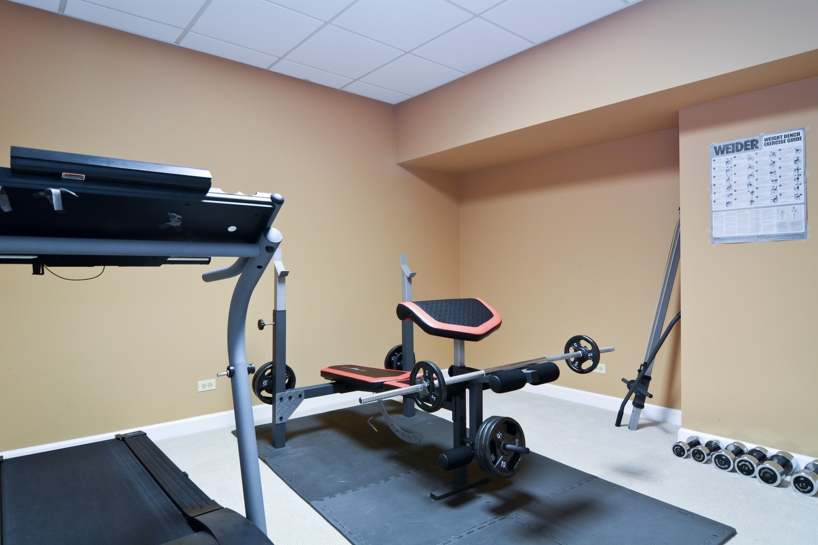 Real Estate Photography - 100 Covington, Oak Brook, IL, 60523 - Exercise Room
