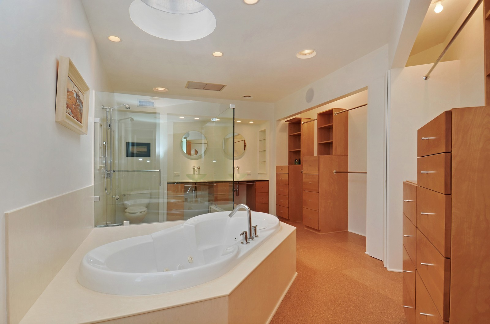 Real Estate Photography - 425 Woodside Ave, Hinsdale, IL, 60521 - Master Bath