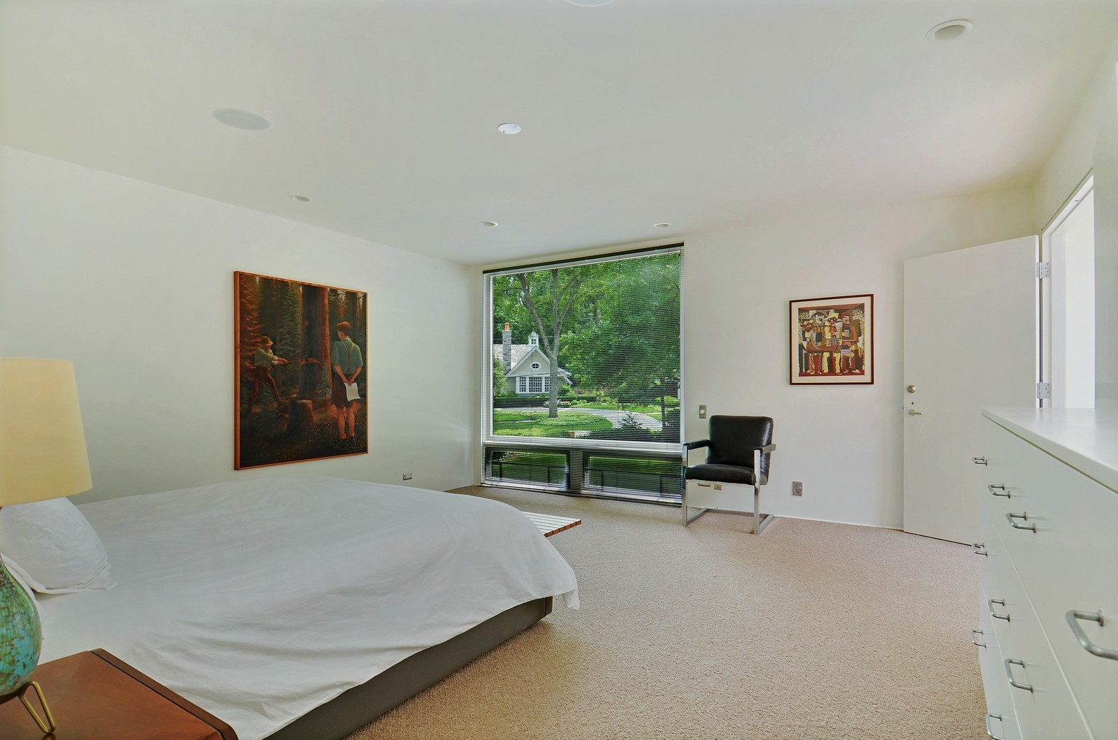 Real Estate Photography - 425 Woodside Ave, Hinsdale, IL, 60521 - Master Bedroom