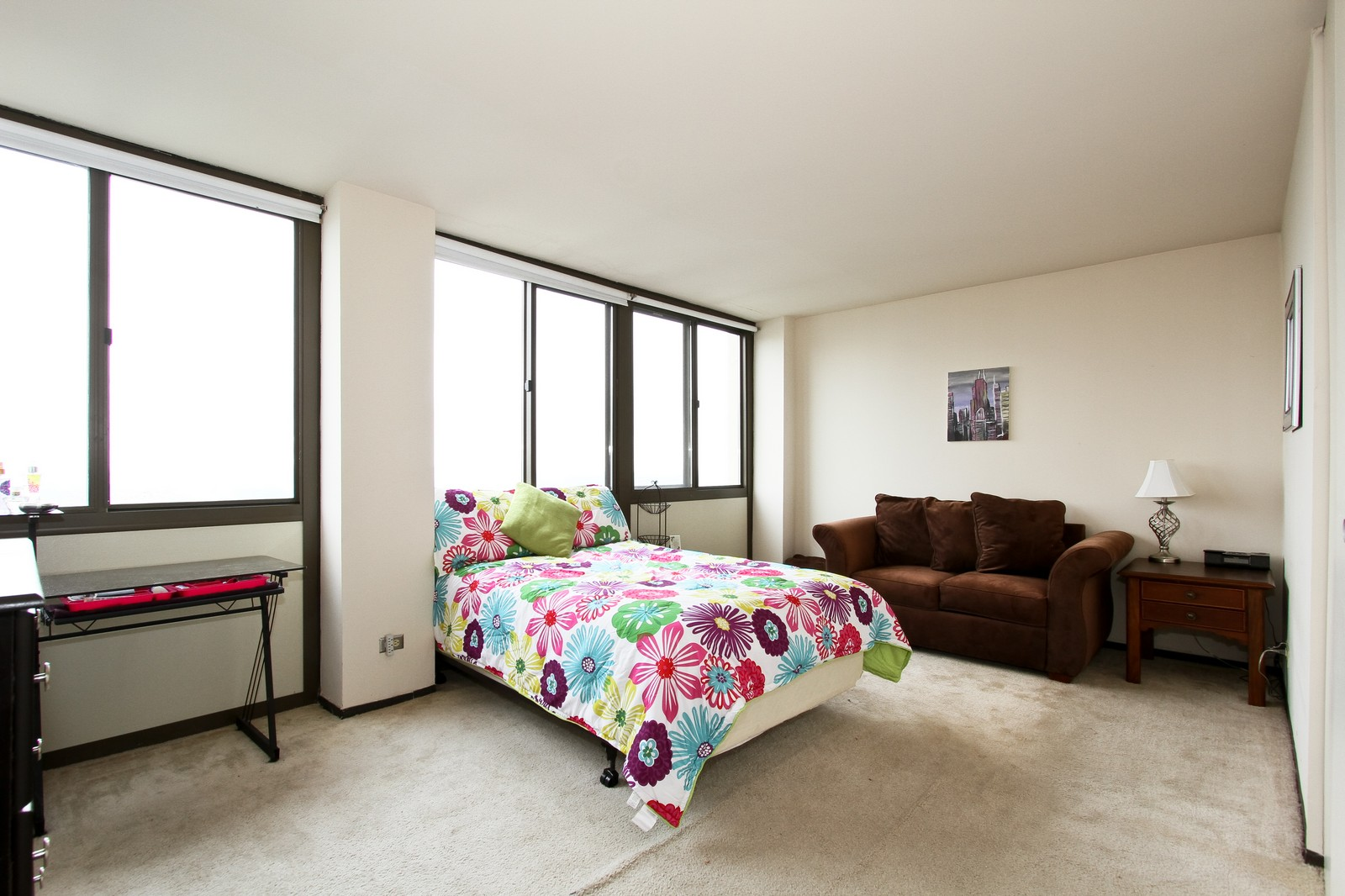 Real Estate Photography - 4800 S Lake Park Ave, Unit 2212, Chicago, IL, 60615 - Bedroom