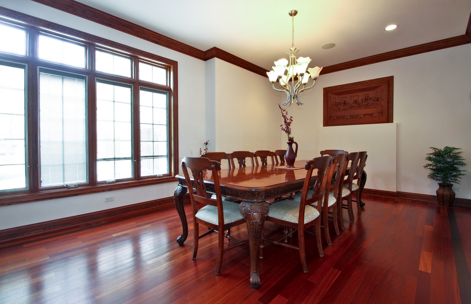 Real Estate Photography - 1641 Pickwick Lane, Glenview, IL, 60026 - Dining Room