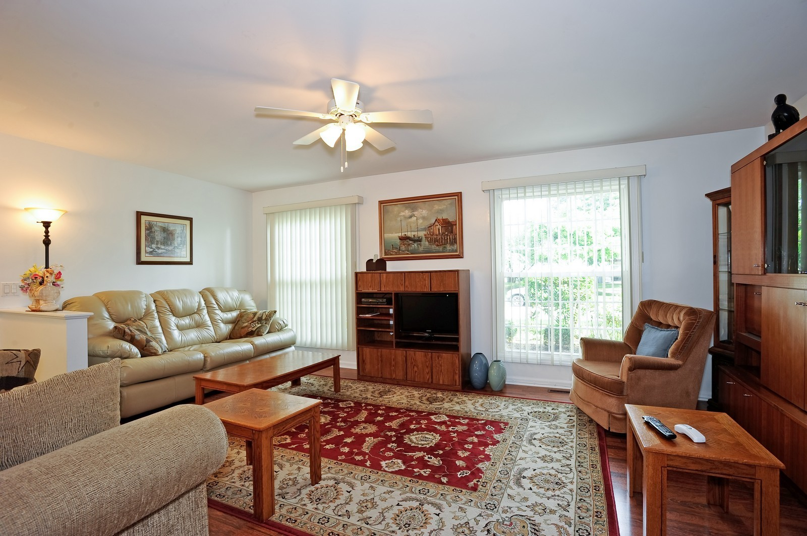 Real Estate Photography - 1138 Spring Garden, Naperville, IL, 60563 - Living Room