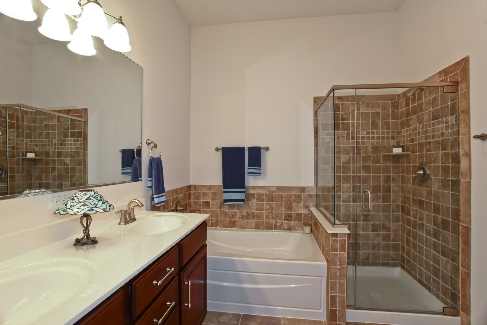 Real Estate Photography - 2769 Blakely Ln., Naperville, IL, 60540 - Master Bathroom
