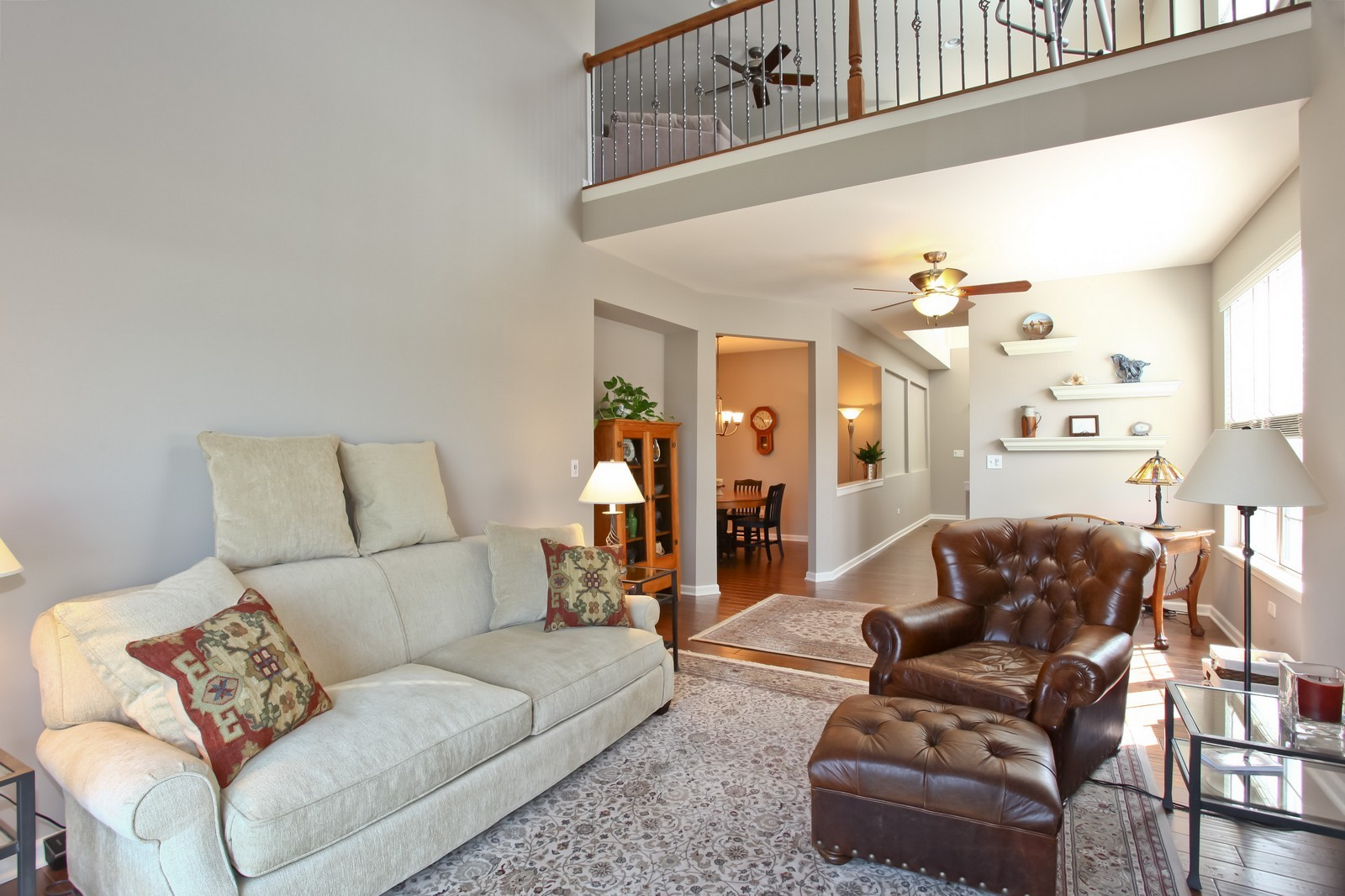 Real Estate Photography - 2769 Blakely Ln., Naperville, IL, 60540 - Family Room / Kitchen