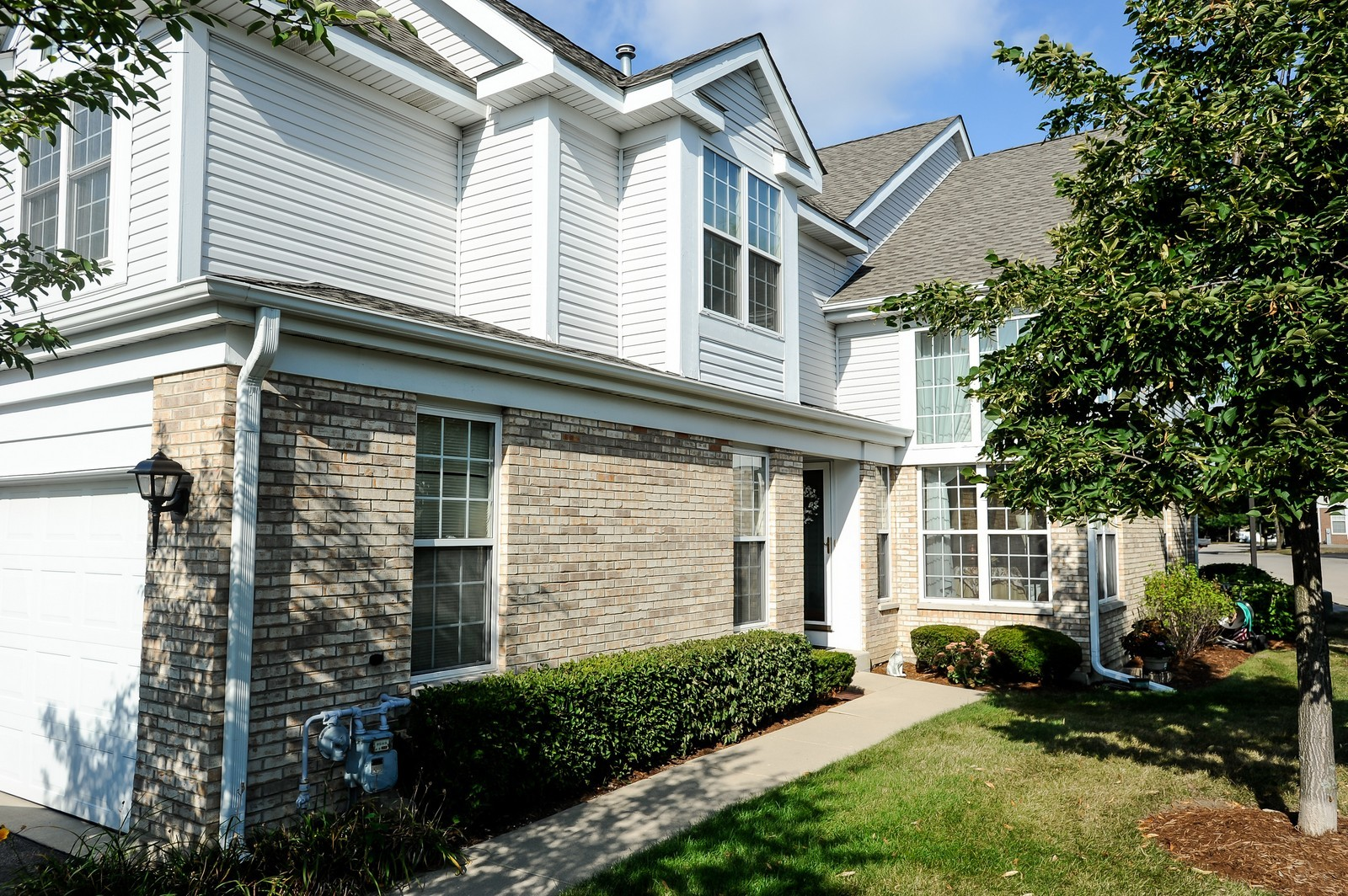 Real Estate Photography - 501 Citadel Circle, Westmont, IL, 60559 - Side Yard